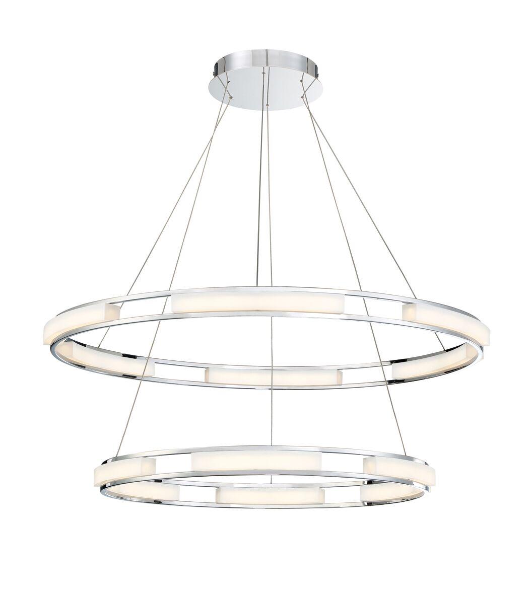 Sturtz 8-Light LED Geometric Chandelier