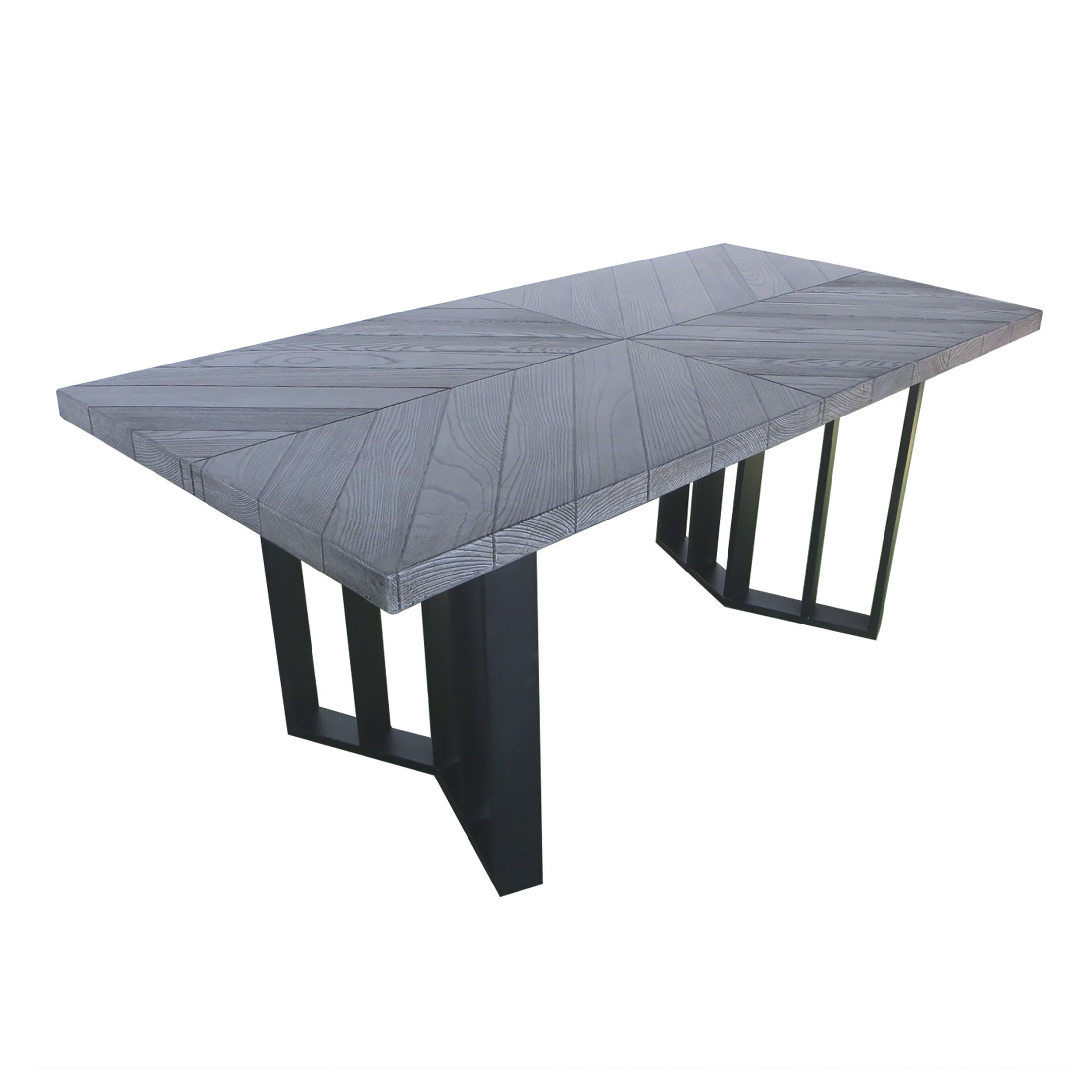 Tyesha Outdoor Dining Table Top Color: Textured Gray Oak