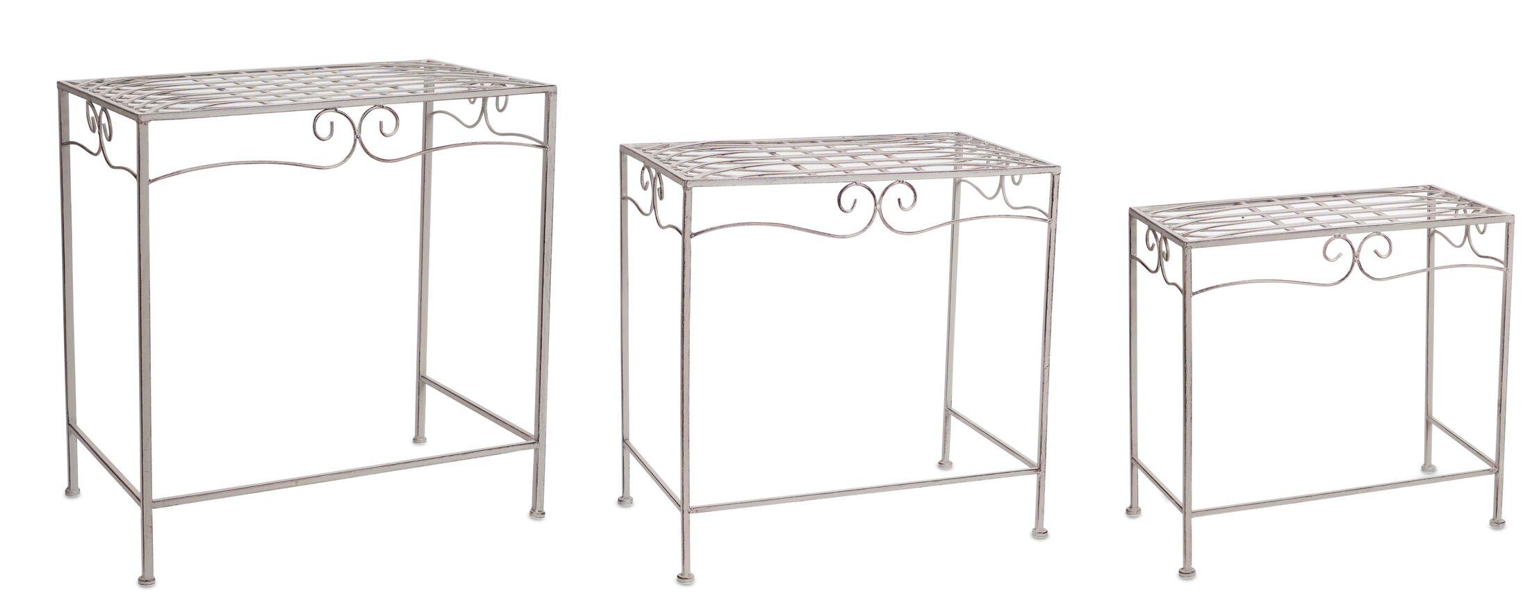 Truss 6 Piece Nesting Table Set