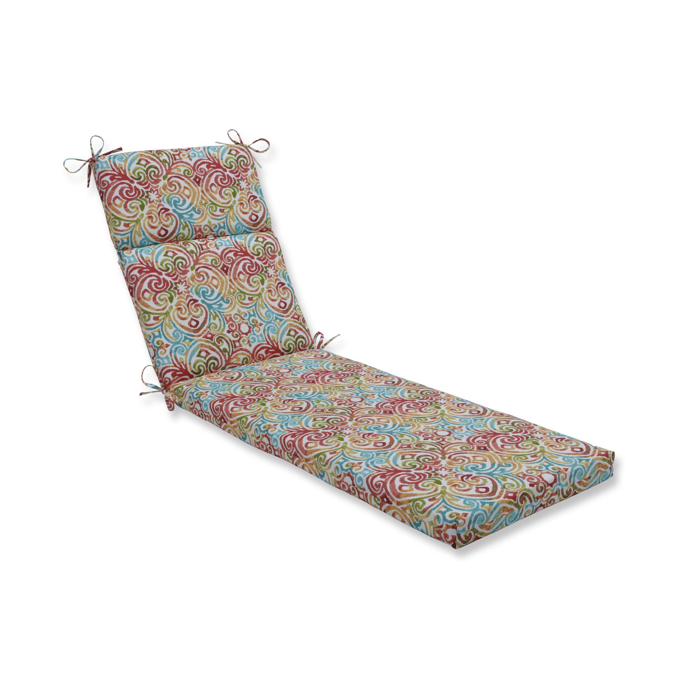 Corinthian Dapple Outdoor Chaise Lounge Cushion