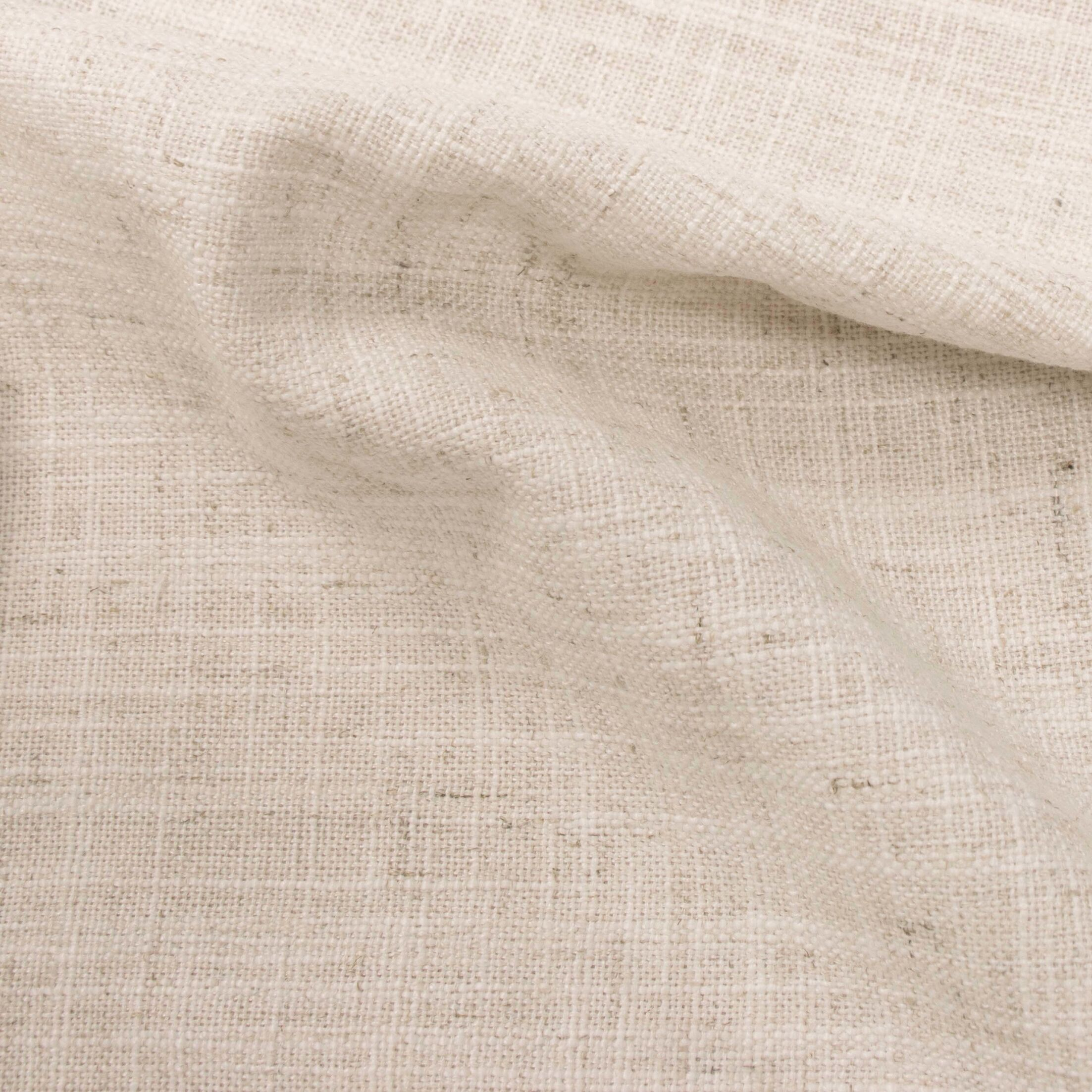 Suttons Notched Upholstered Panel Bed Size: Queen, Color: Talc