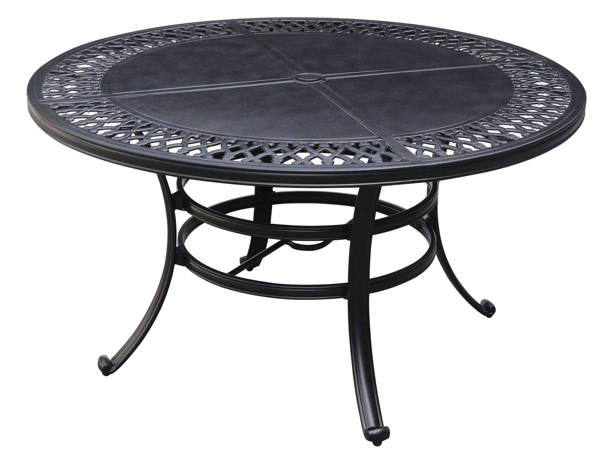 Bridgegate Onyx Outdoor Round Dining Table