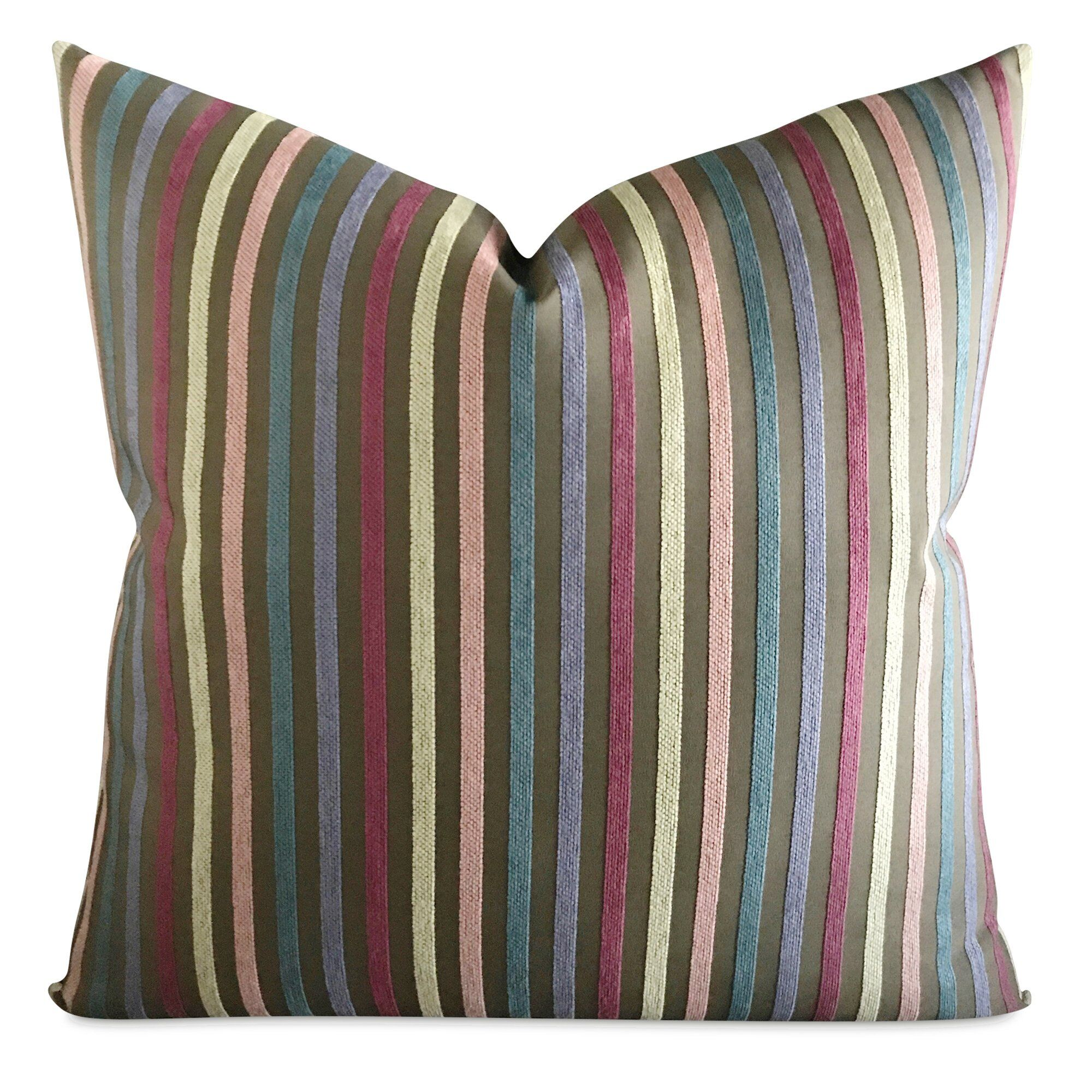 Beckworth Striped Decorative Pillow Cover