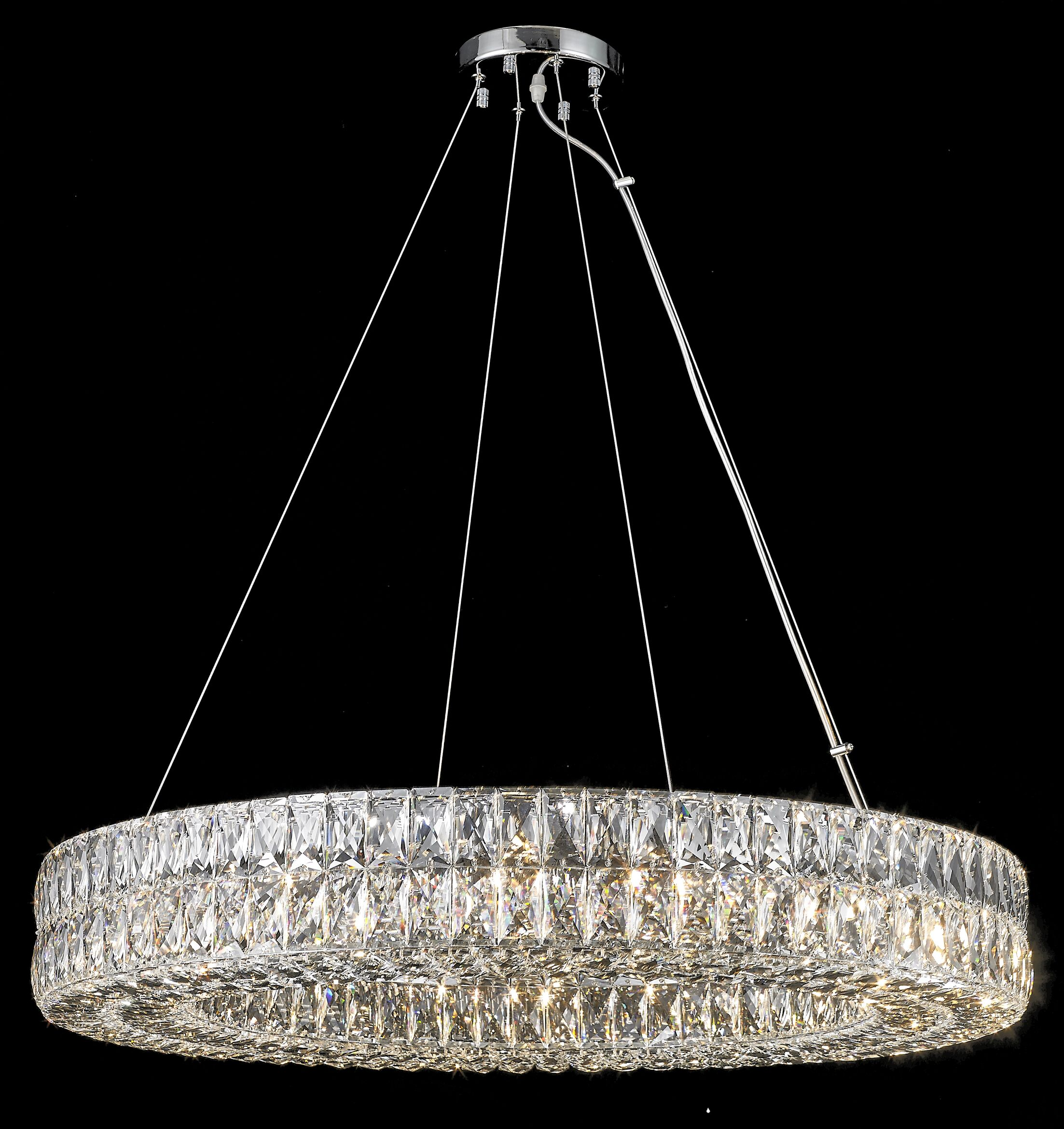 Sibdon 16-Light Crystal Chandelier
