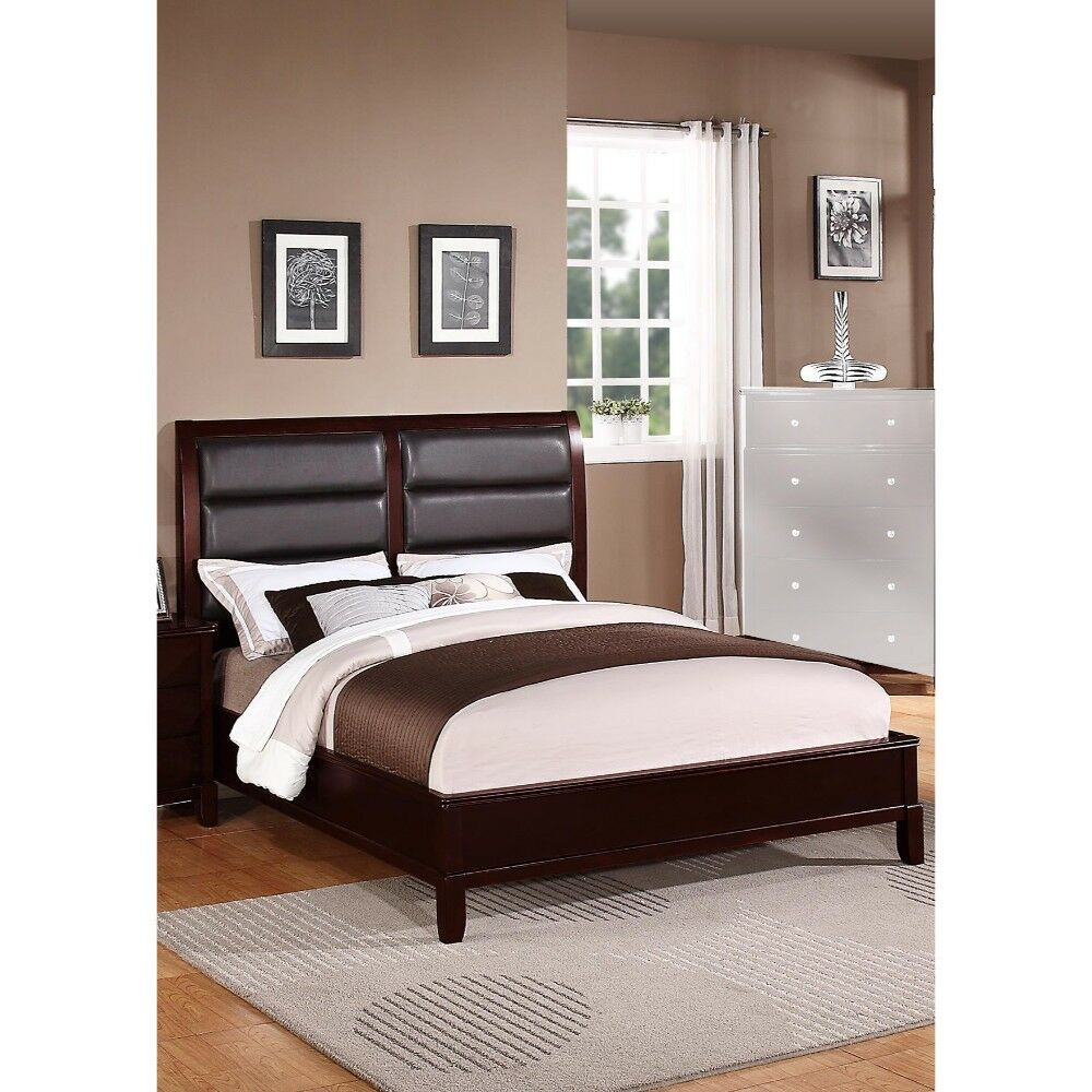 Stinecipher Eccentric Wooden Upholstered Panel Bed Size: C.King