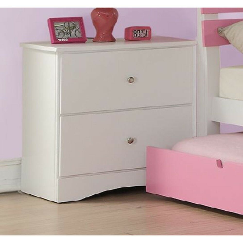 Davison 2 Drawer Nightstand