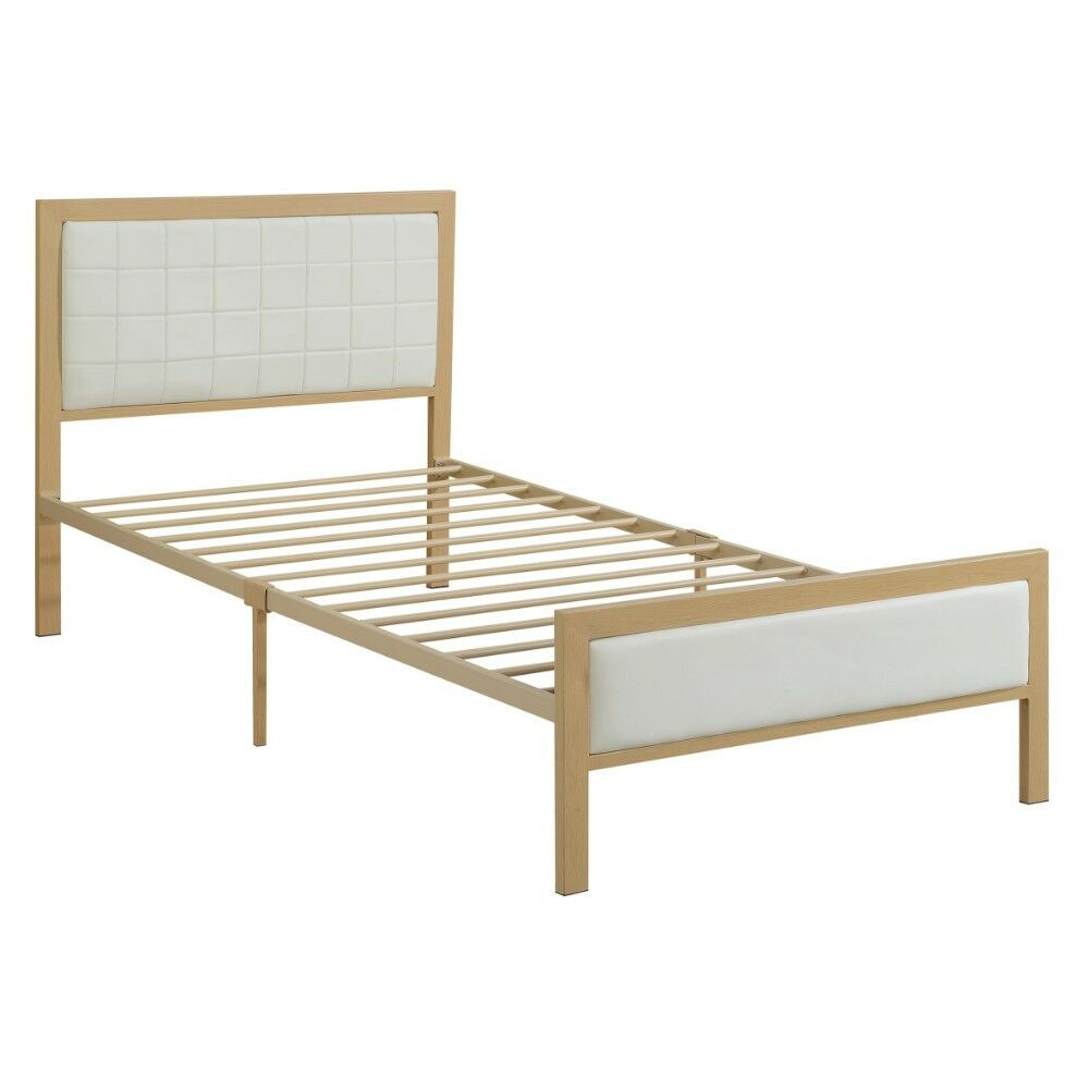 Lineberry Panel Bed Size: Twin, Color: White