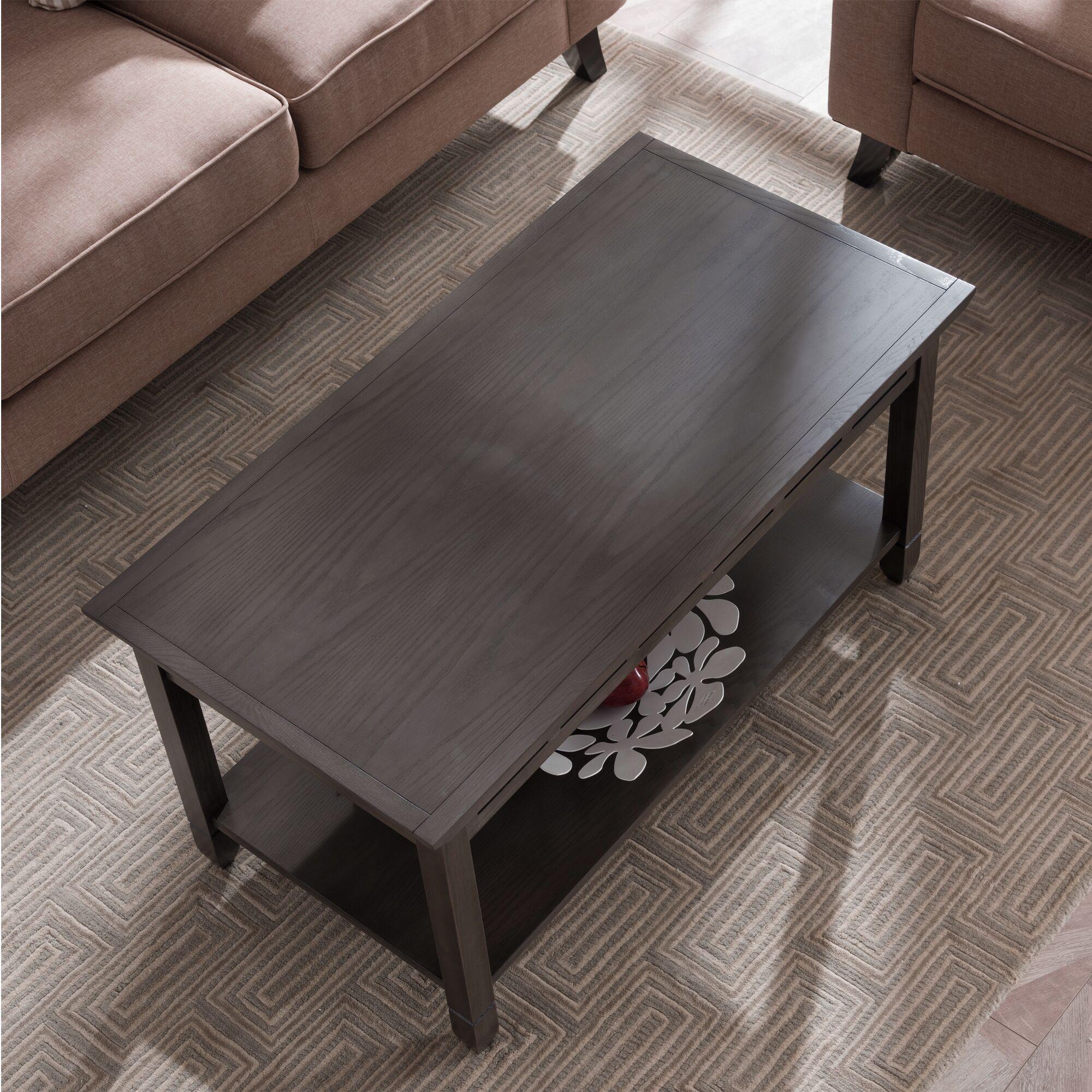 Apple Valley Coffee Table Color: Smoke Gray