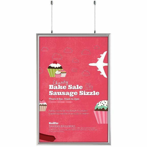 Double Sided Snap Frame Size: 37.18