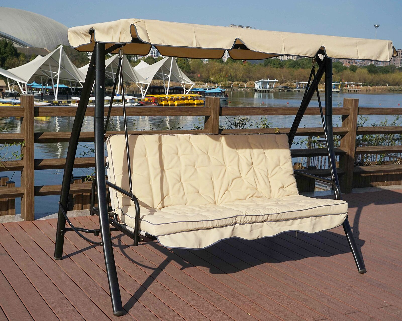 Kemble Porch Swing with Stand