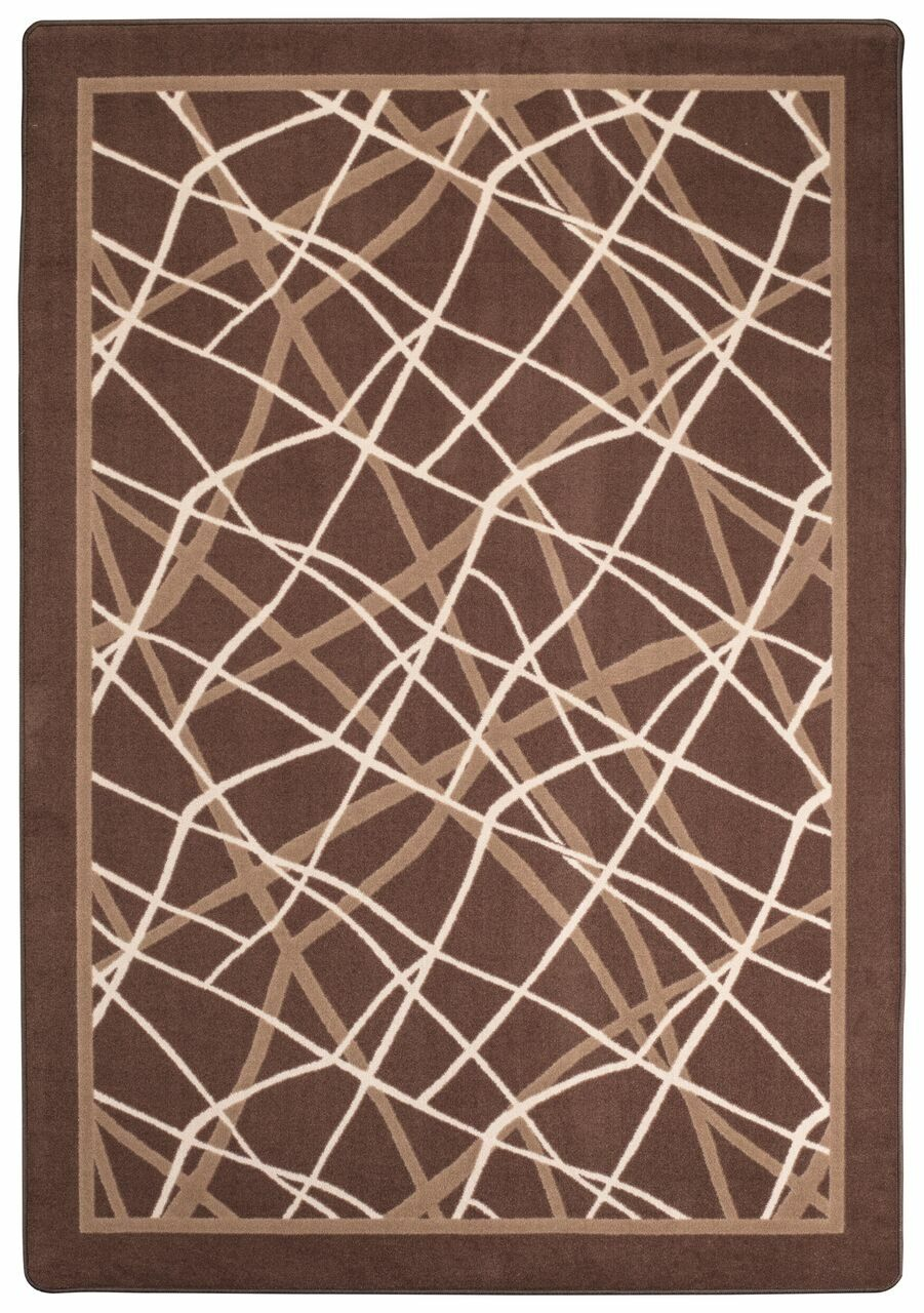 Mcmann Sepia Tan Area Rug Rug Size: Rectange 5'4