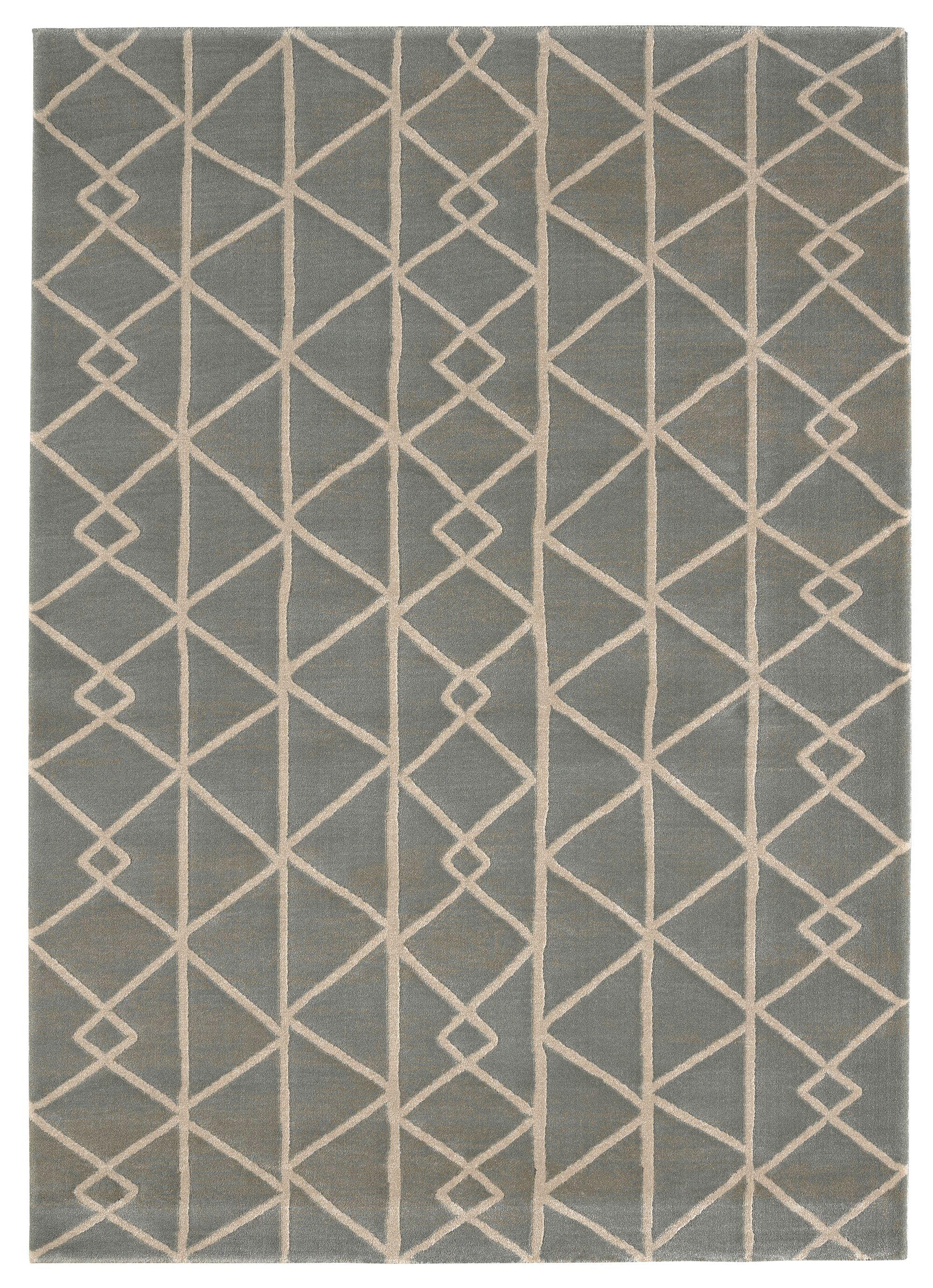 Mandurah Gray Area Rug Rug Size: Rectangle 5'3