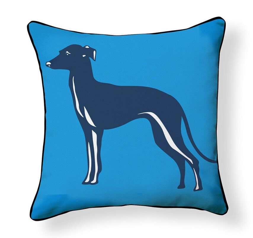Dupuy Whippet Indoor/Outdoor Throw Pillow