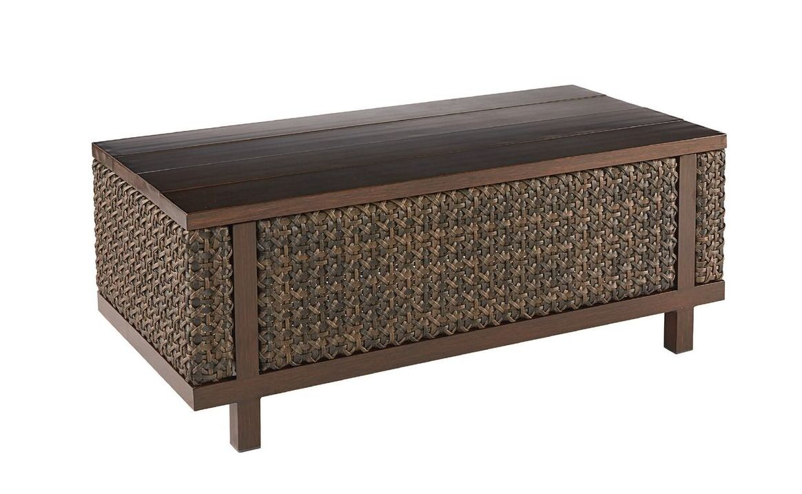 Asphodèle Outdoor Coffee Table with Storage