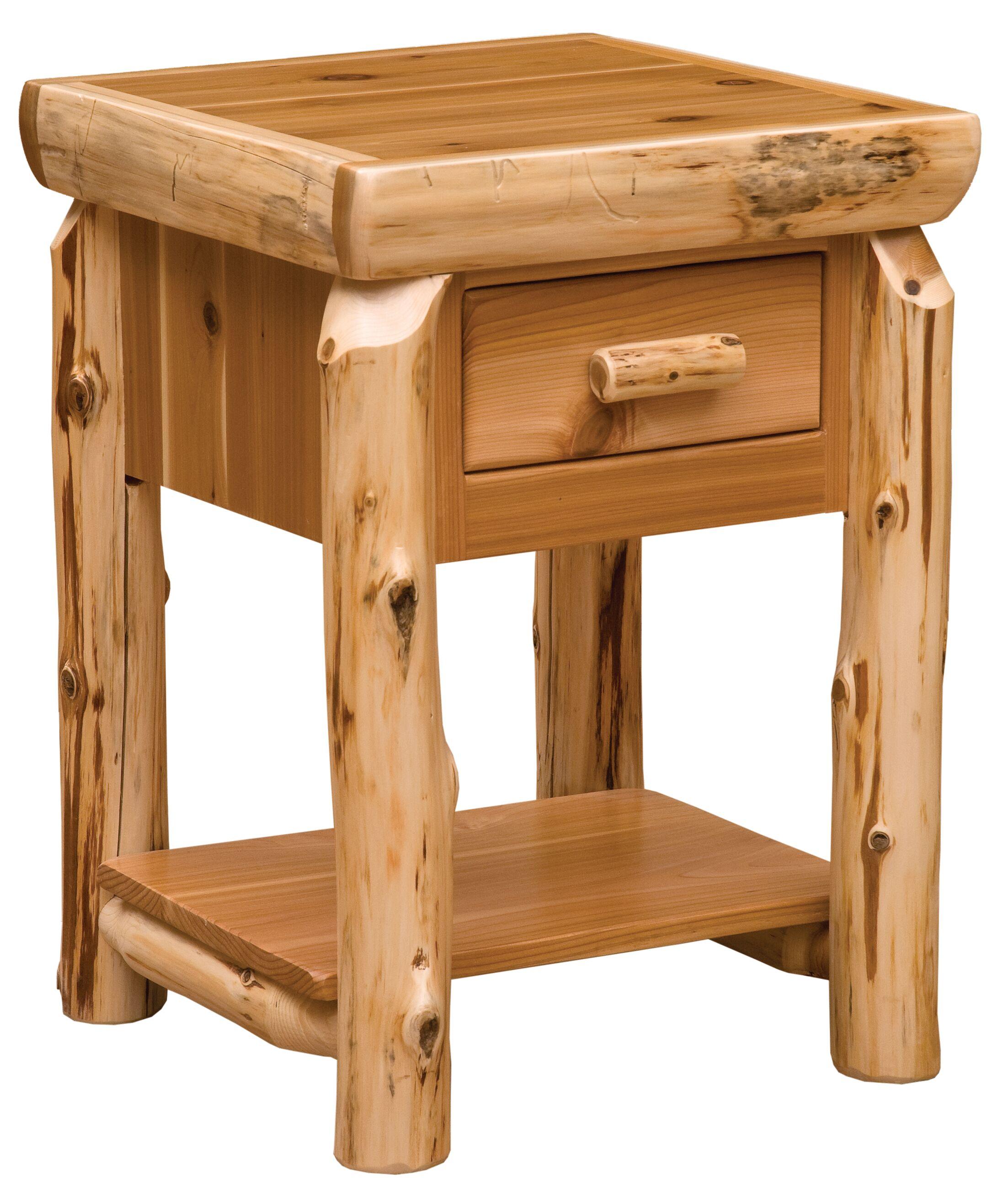Cedar End Table