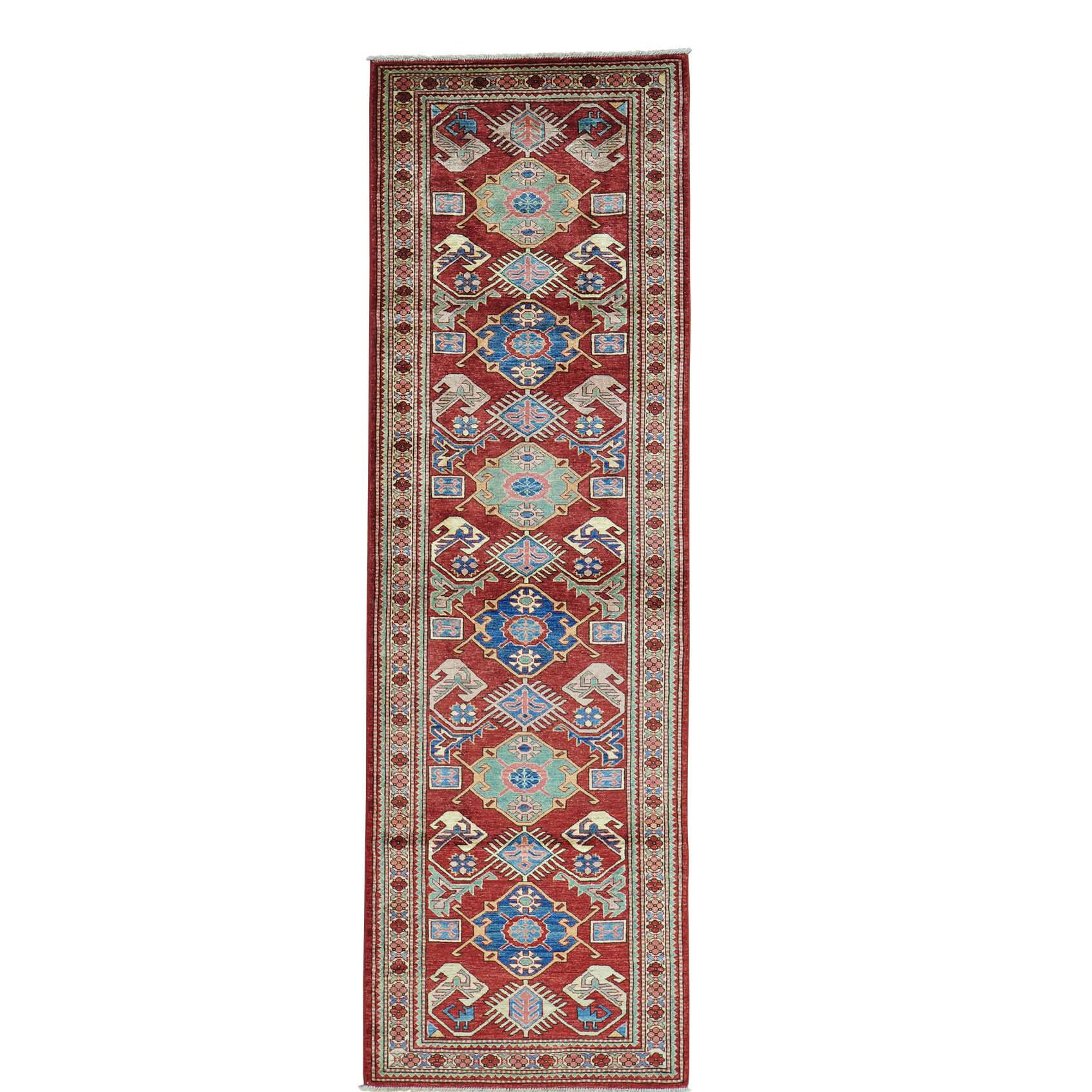 One-of-a-Kind Kempinski Hand-Knotted Rust Red/Gold Area Rug
