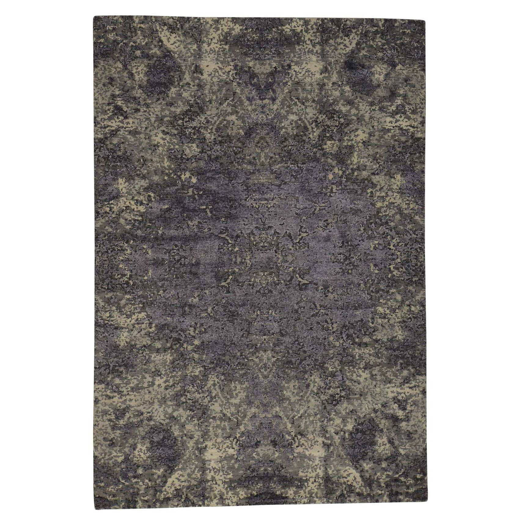 One-of-a-Kind Eddyville Hand-Knotted Taupe/Gray Area Rug