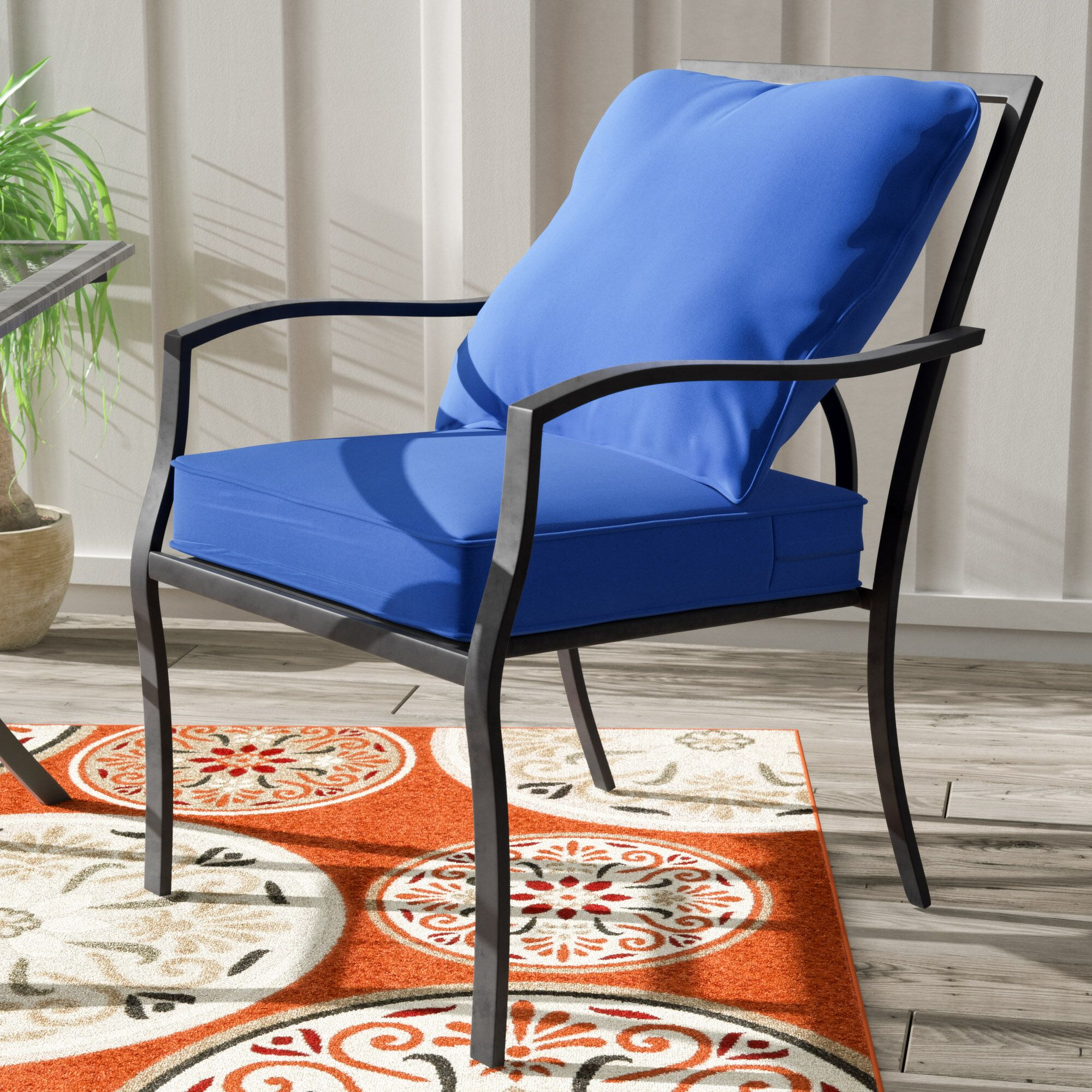 Furniture Cushions Sarver Indoor Outdoor Lounge Chair Cushion March 2019