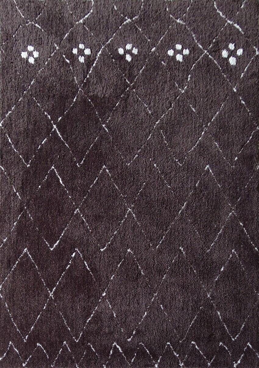 Dellinger Hand-Tufted Brown Area Rug