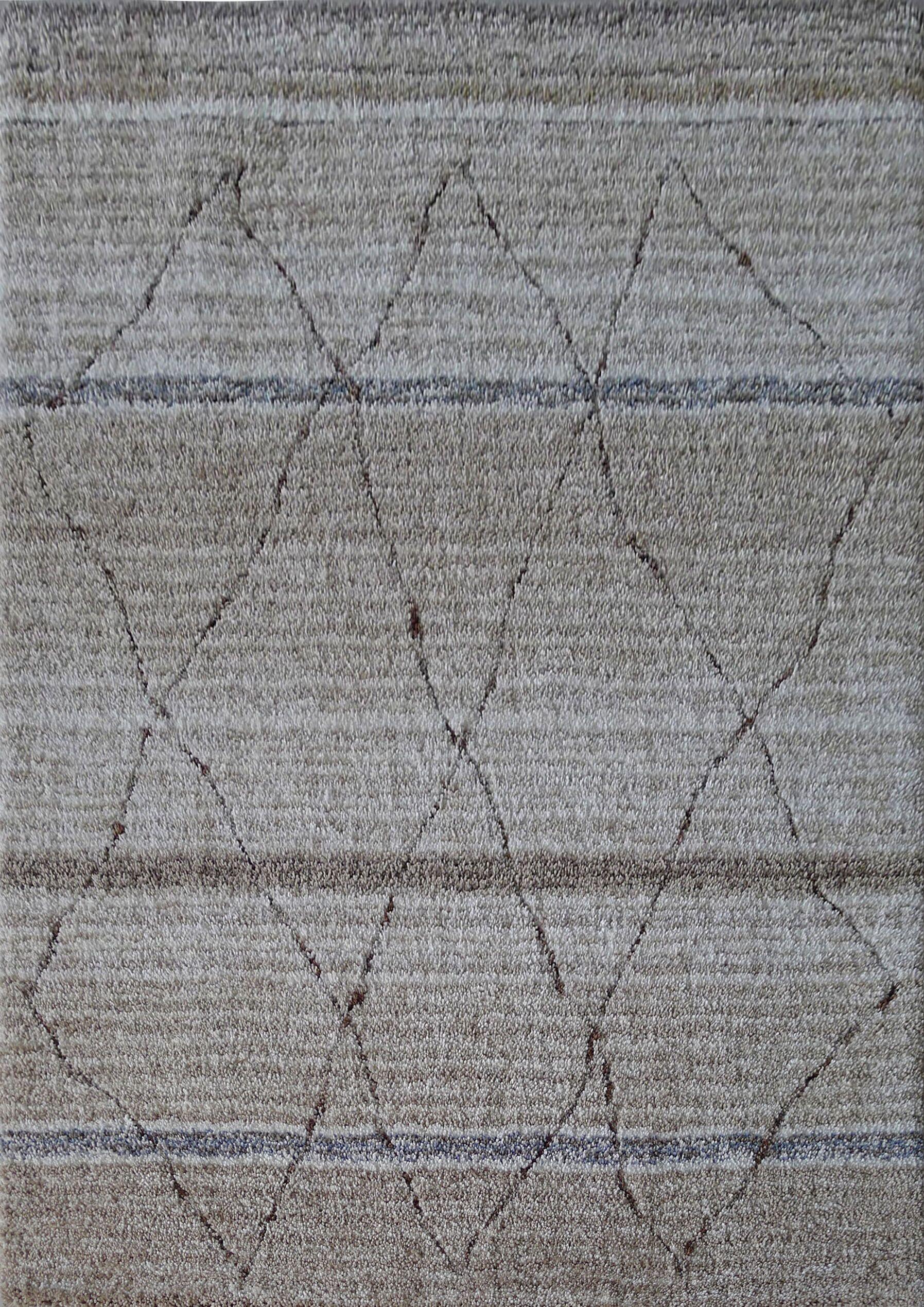 Dellinger Hand-Tufted Beige Area Rug