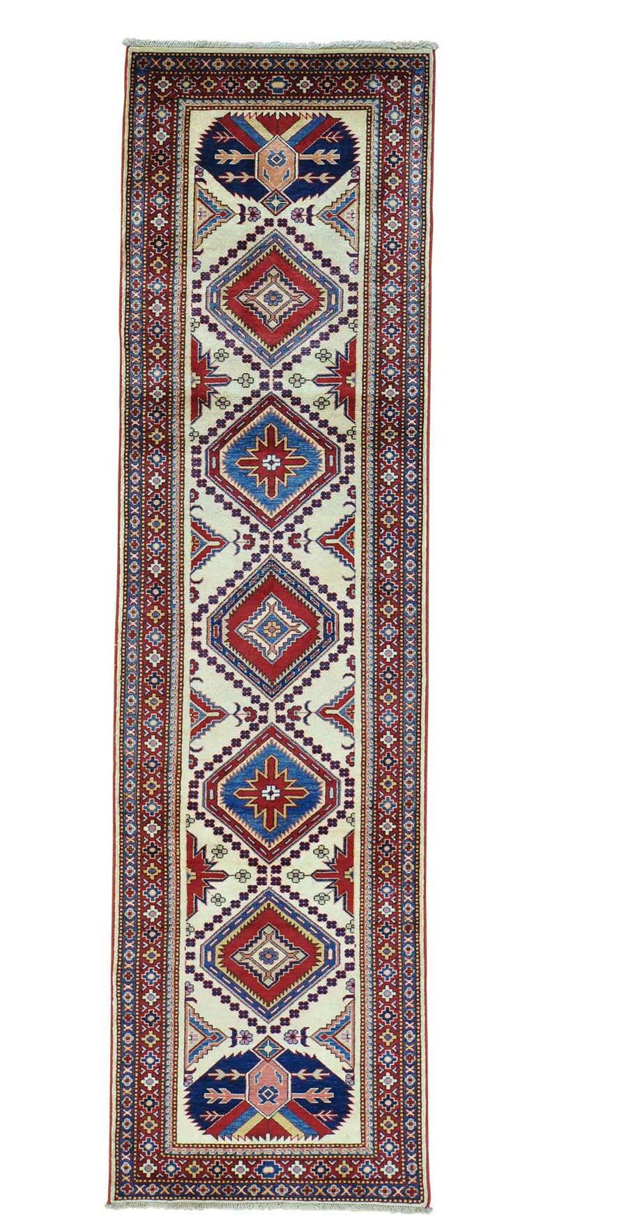 One-of-a-Kind Tillett Fine Hand-Knotted Ivory Area Rug