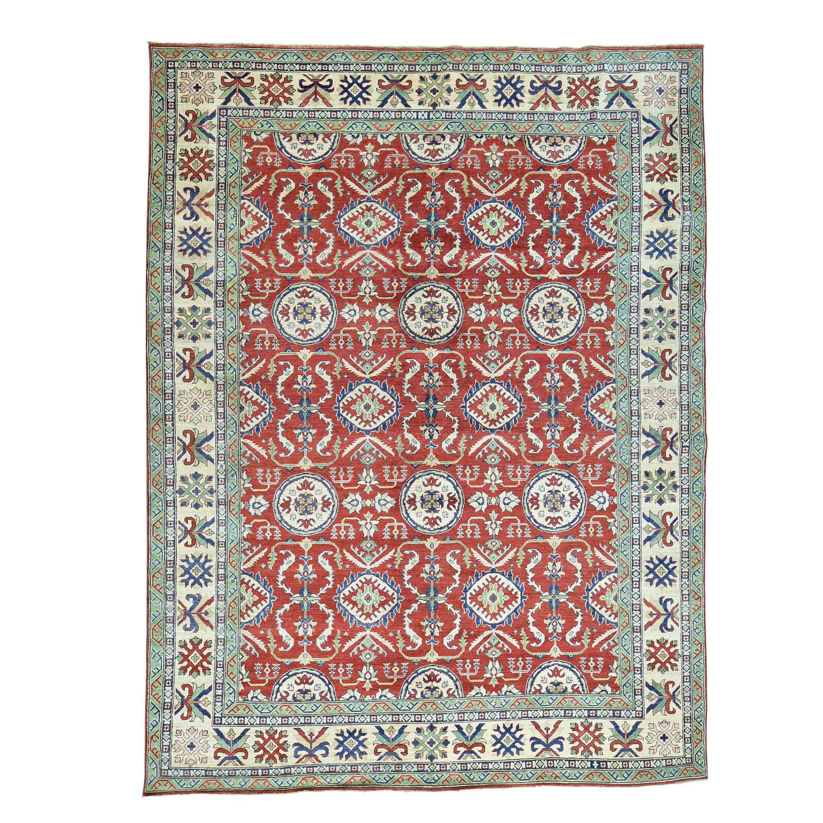 One-of-a-Kind Tillotson Hand-Knotted Red Area Rug