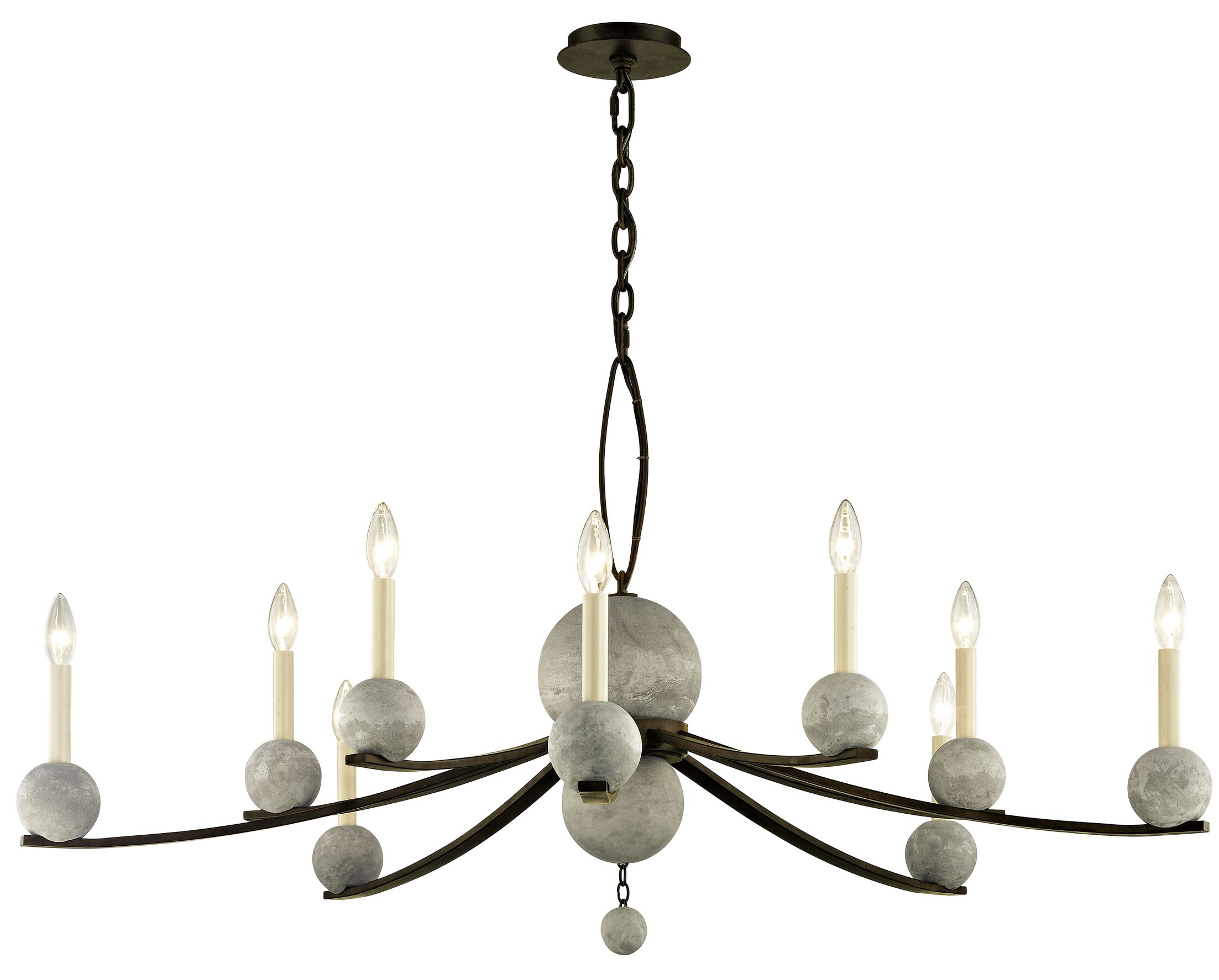 Ogletree 10-Light Chandelier
