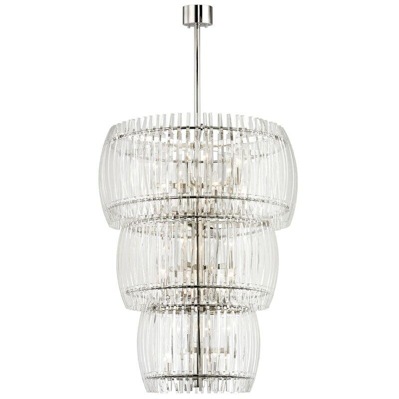 Woodham 24-Light Crystal Chandelier