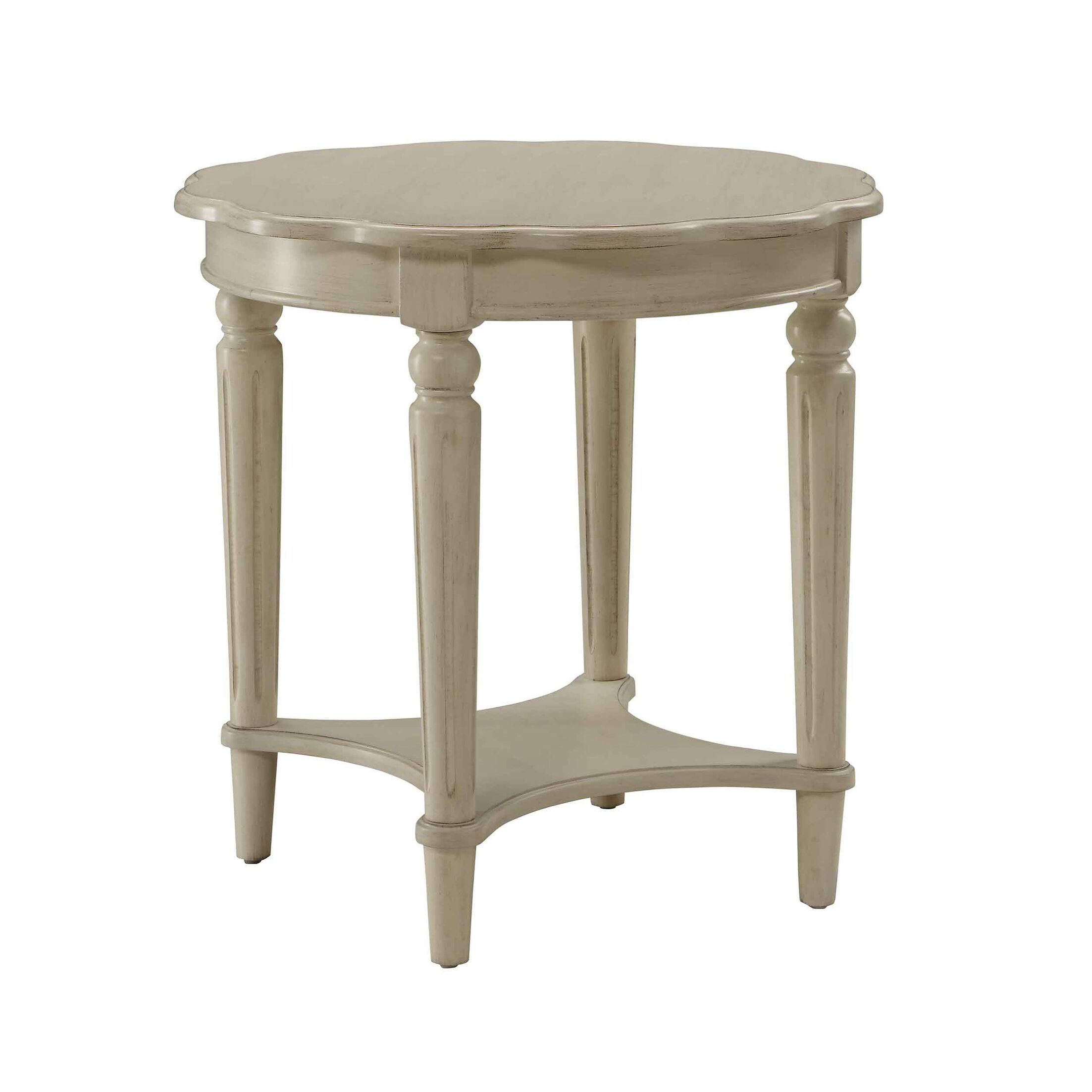 Vandervort End Table Color: Antique White