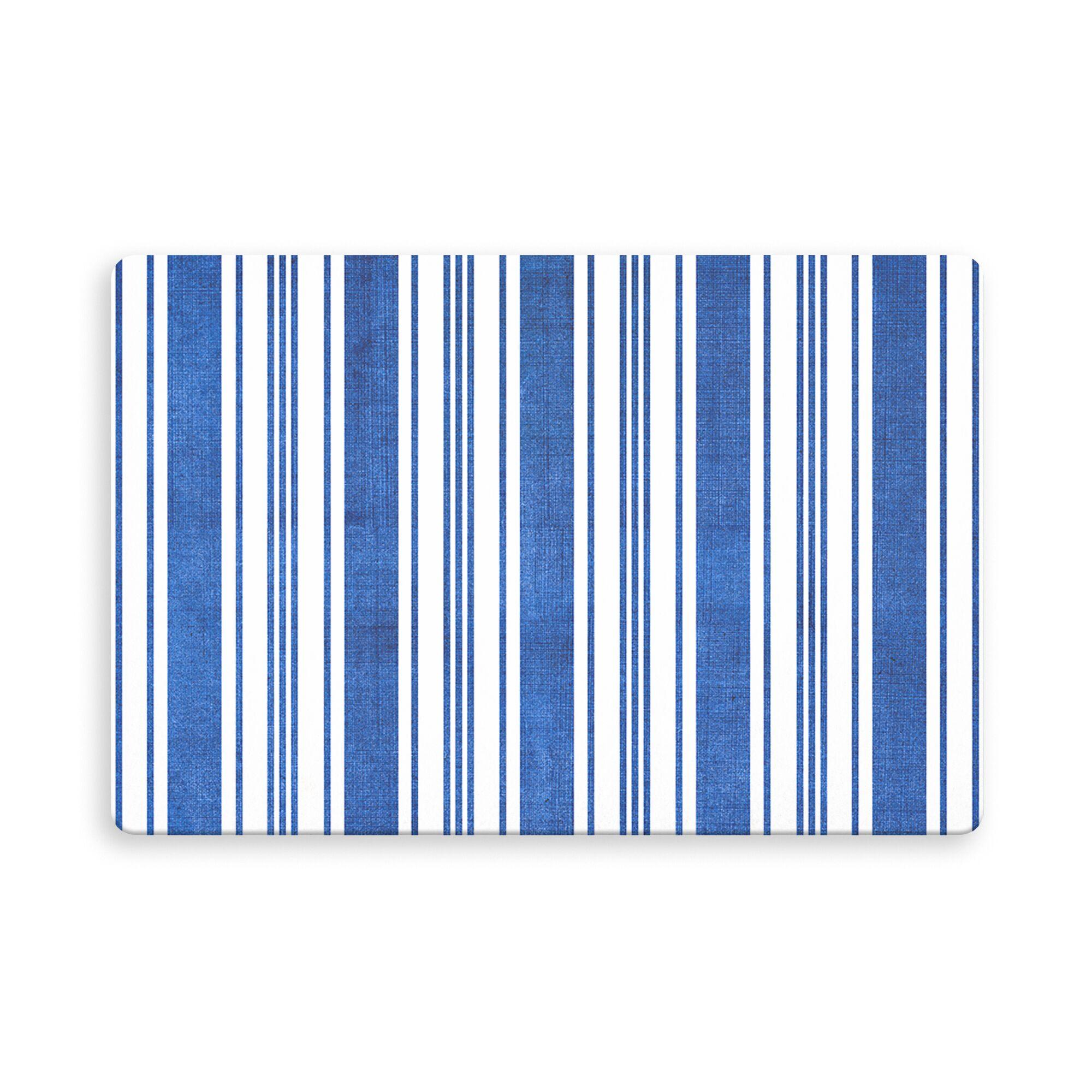 Ellicott Castaneda Indoor/Outdoor Doormat Color: Blue, Mat Size: Rectangle 2'6