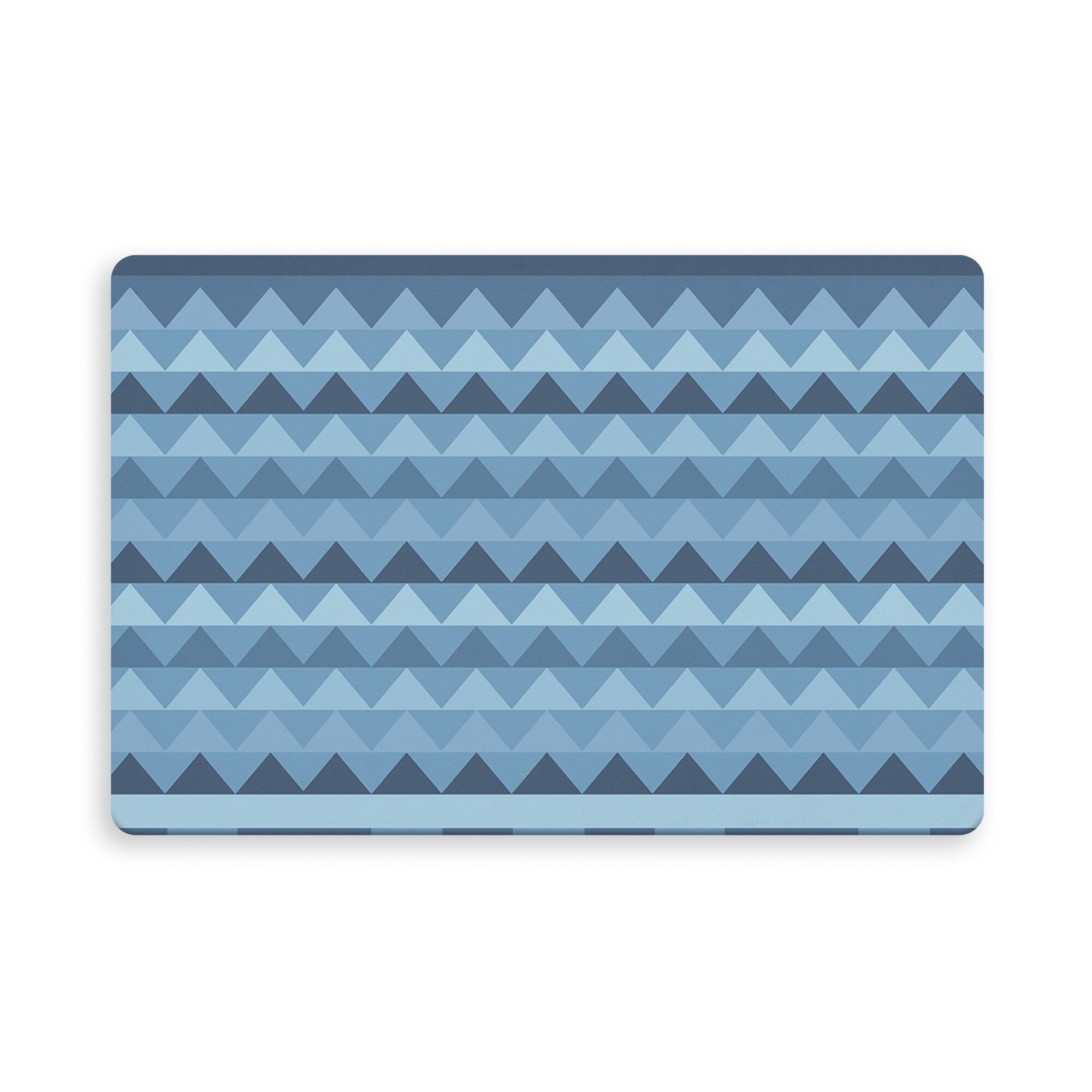 Gavin Manske Indoor/Outdoor Doormat Color: Blue, Mat Size: Rectangle 2'6
