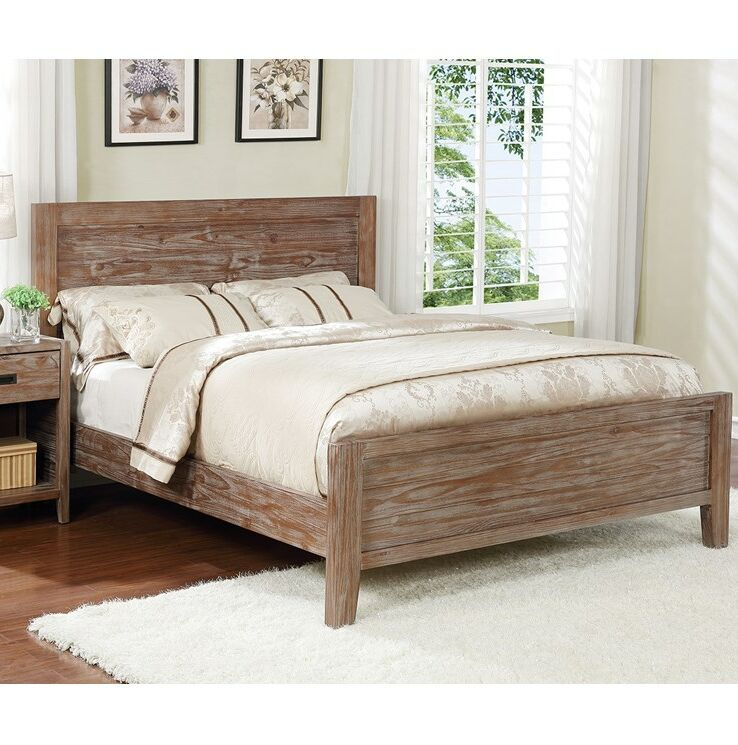 Ulrey Platform Bed Color: Pine Cone, Size: California King