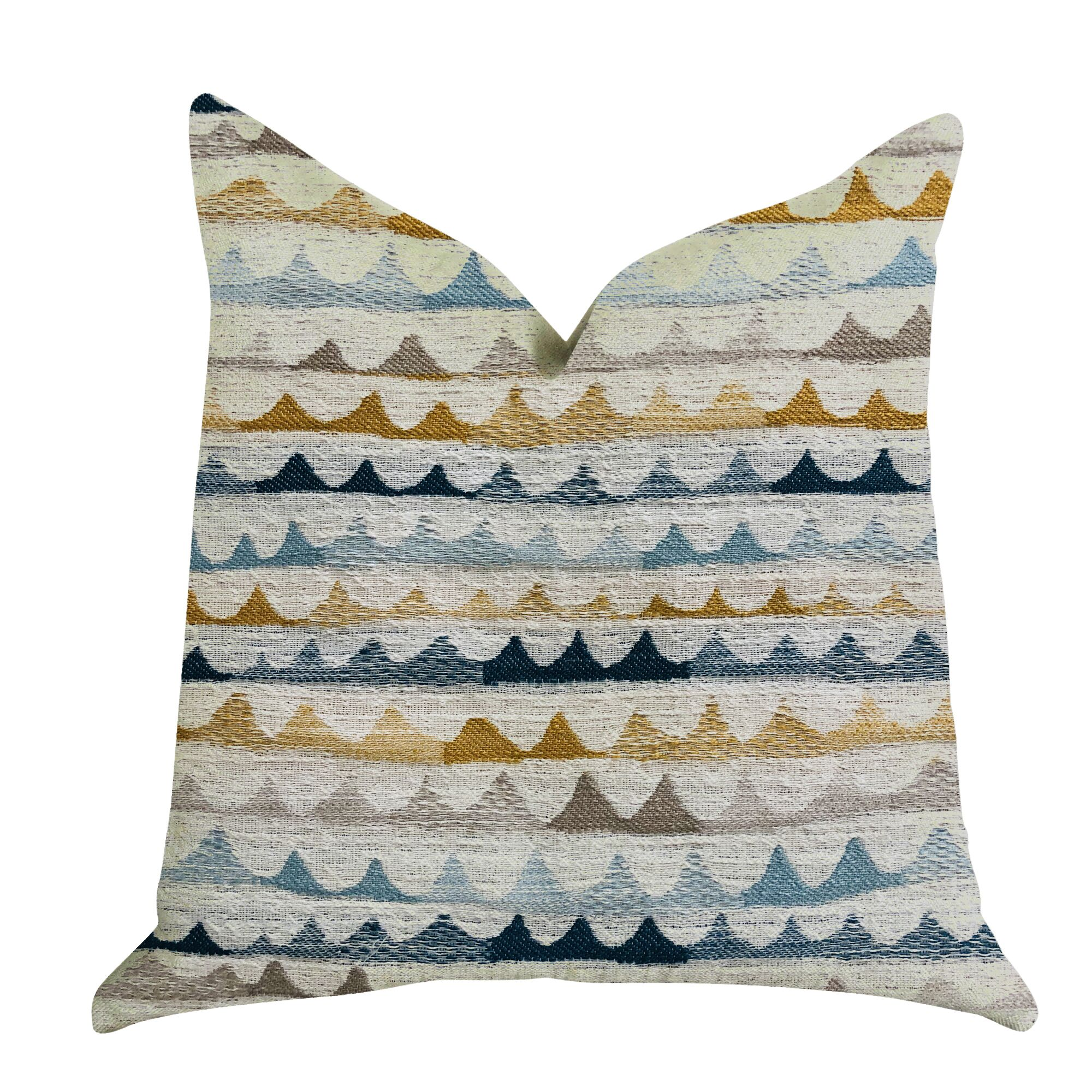 Delmar Rush Patterned Luxury Pillow Size: 20