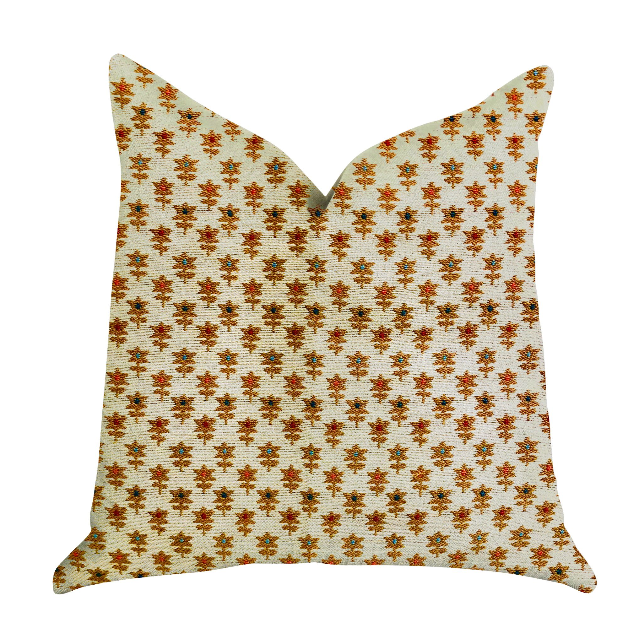 Henthorn Floral Luxury Pillow Size: 20