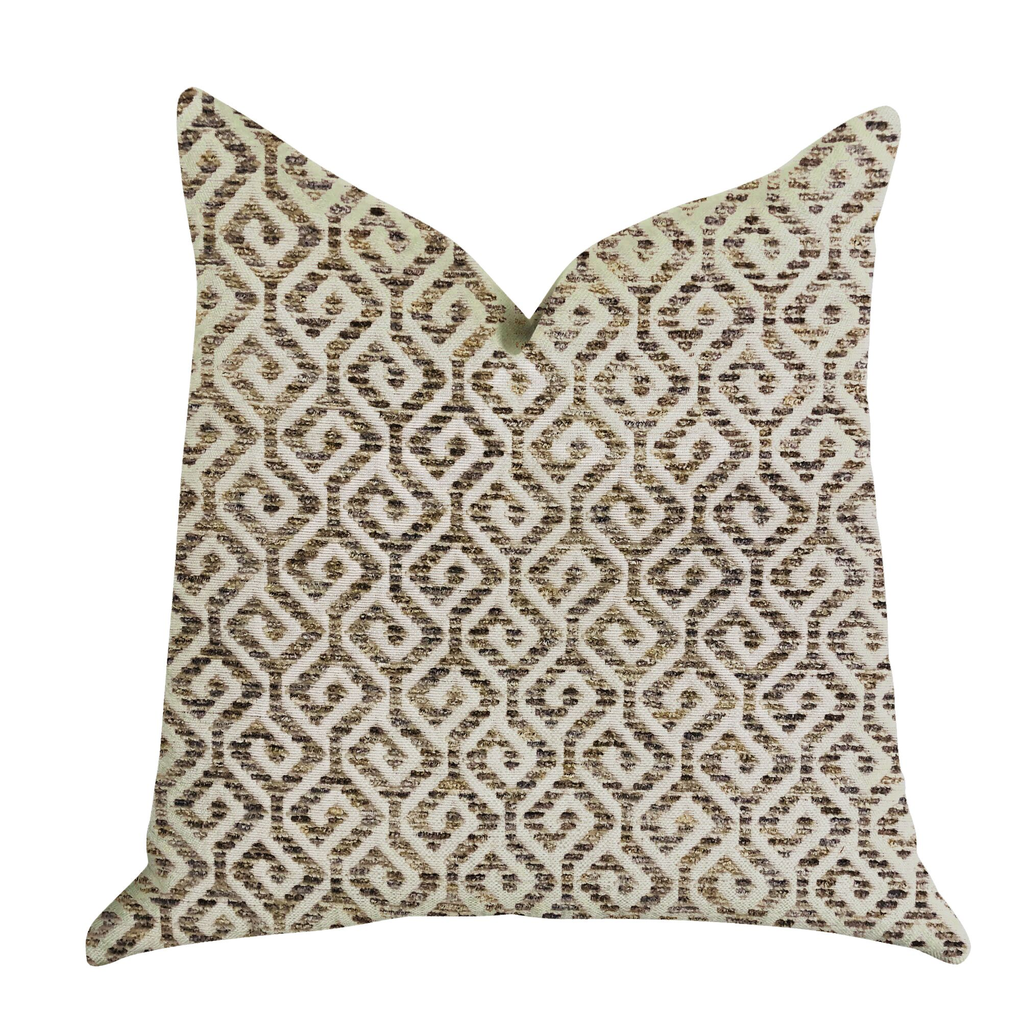 Gilleland Shades Maze Luxury Pillow Size: 12
