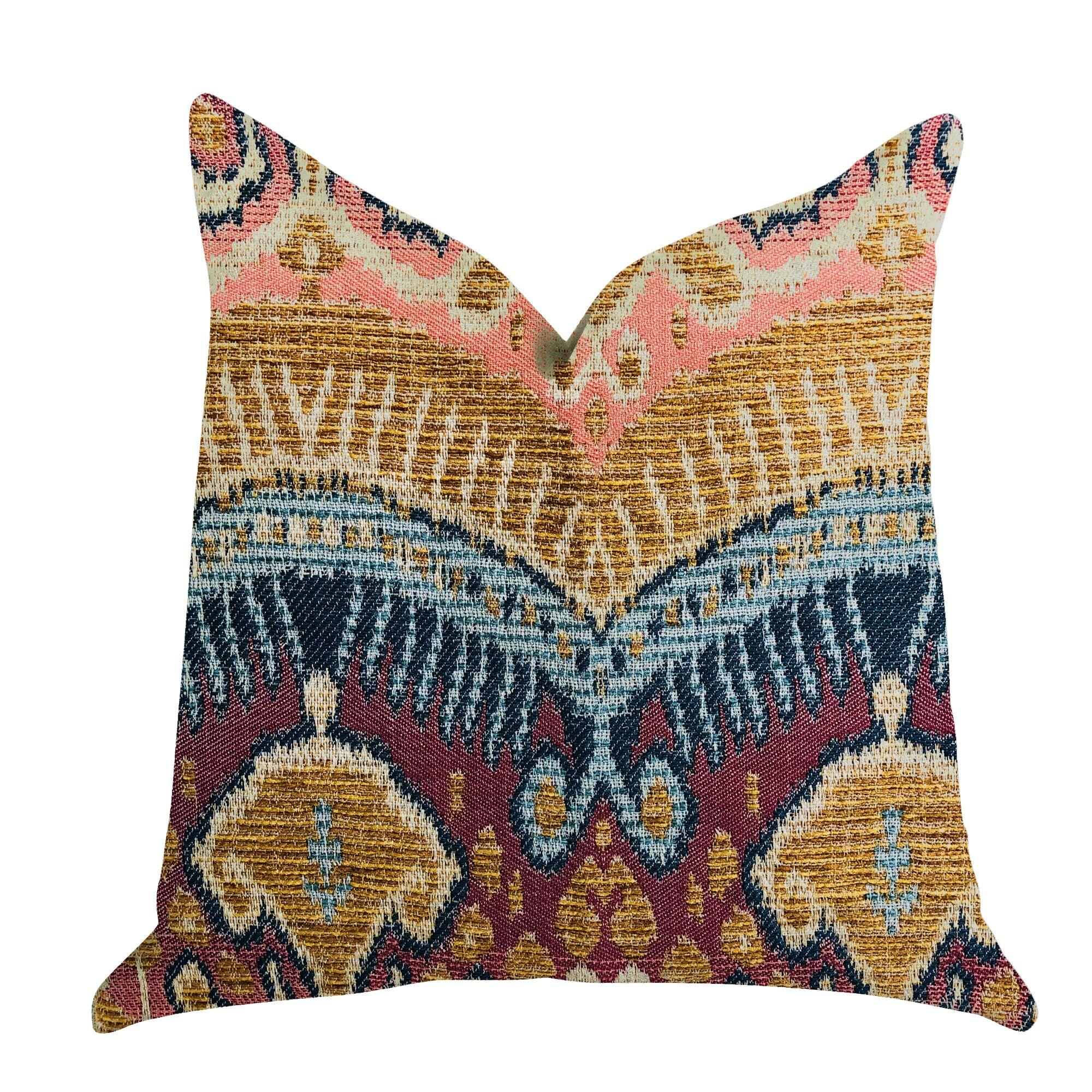 Reidy Ikat Luxury Pillow Size: 26