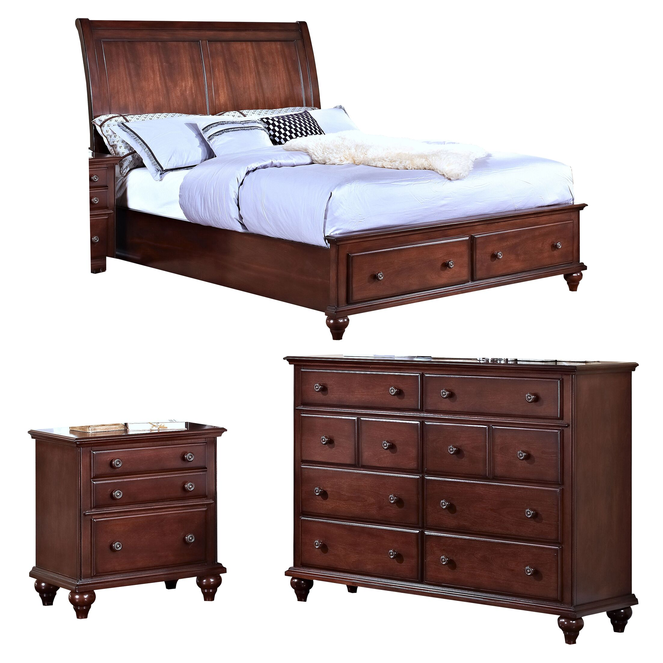 Hoisington Panel Configurable Bedroom Set