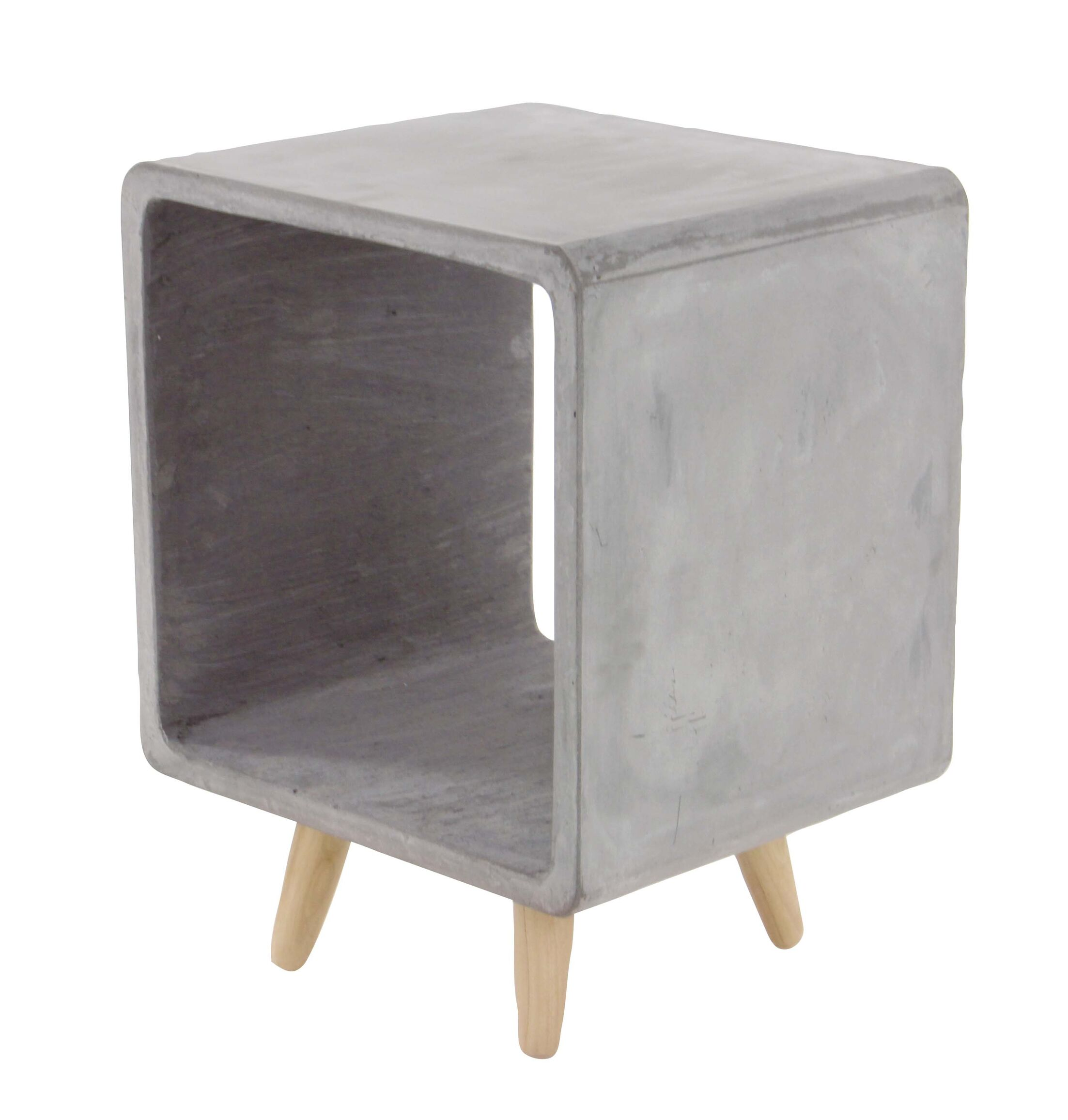 Gosnells End Table Color: Gray