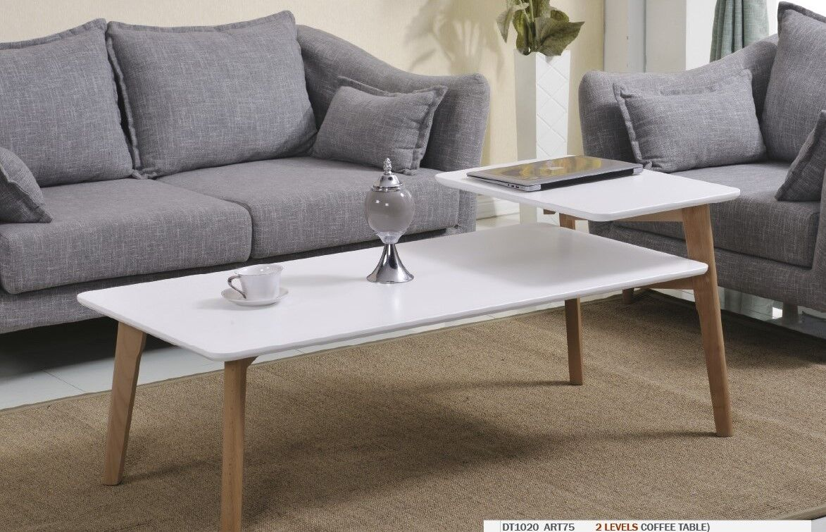 Simmers Coffee Table Table Top Color: Matte White