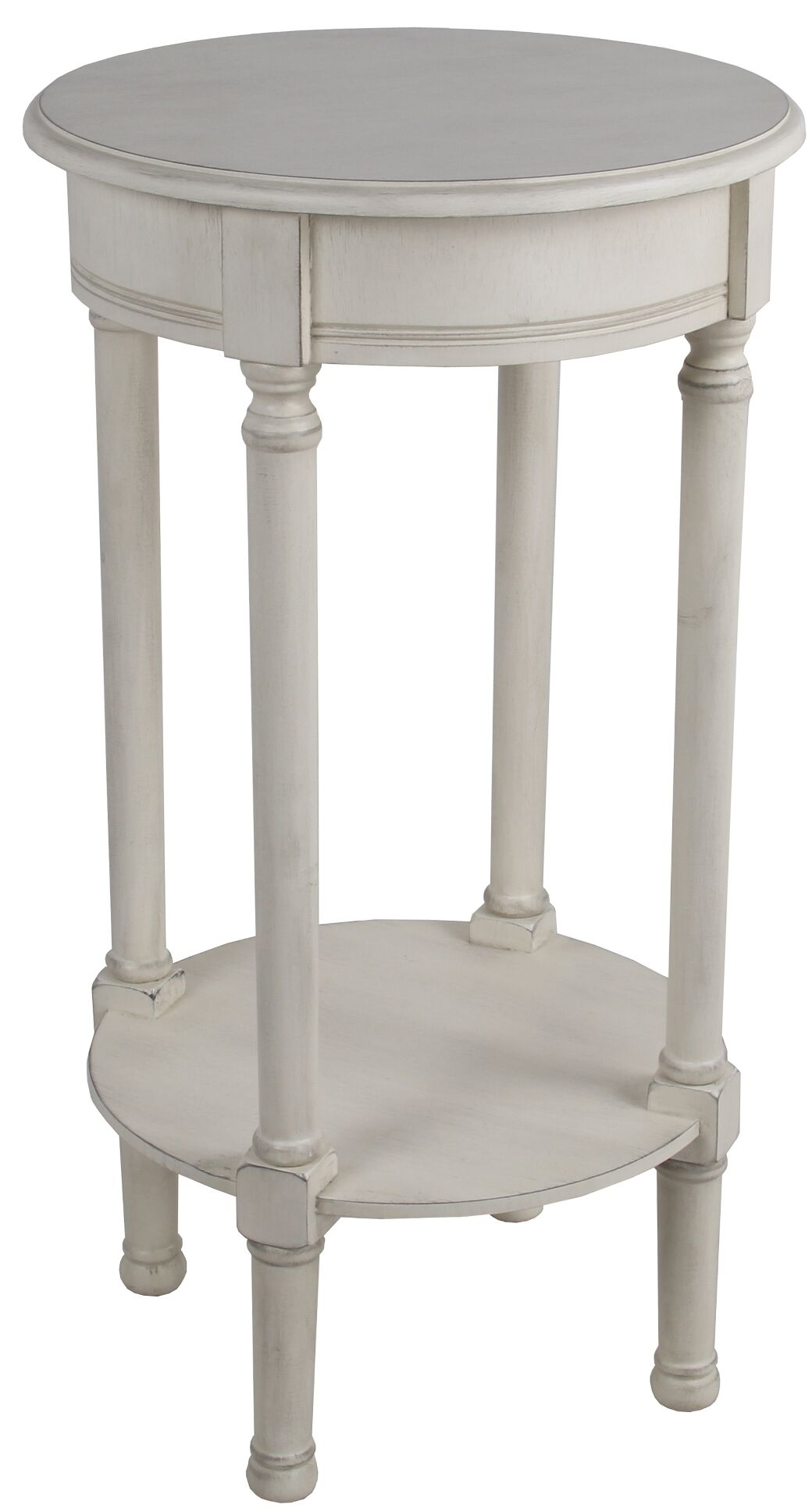 Keisler End Table Color: Off White