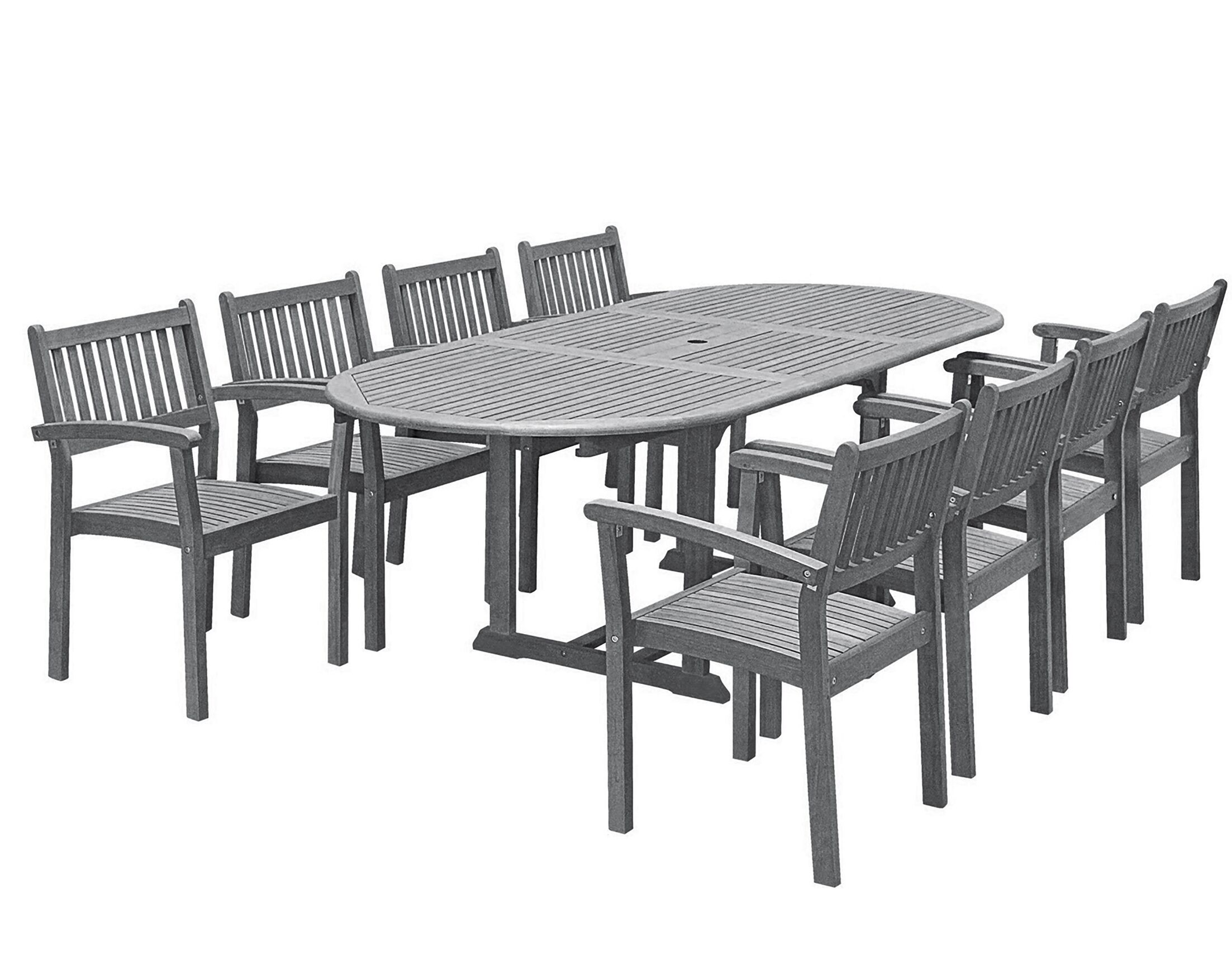 Drees 9 Piece Dining Set
