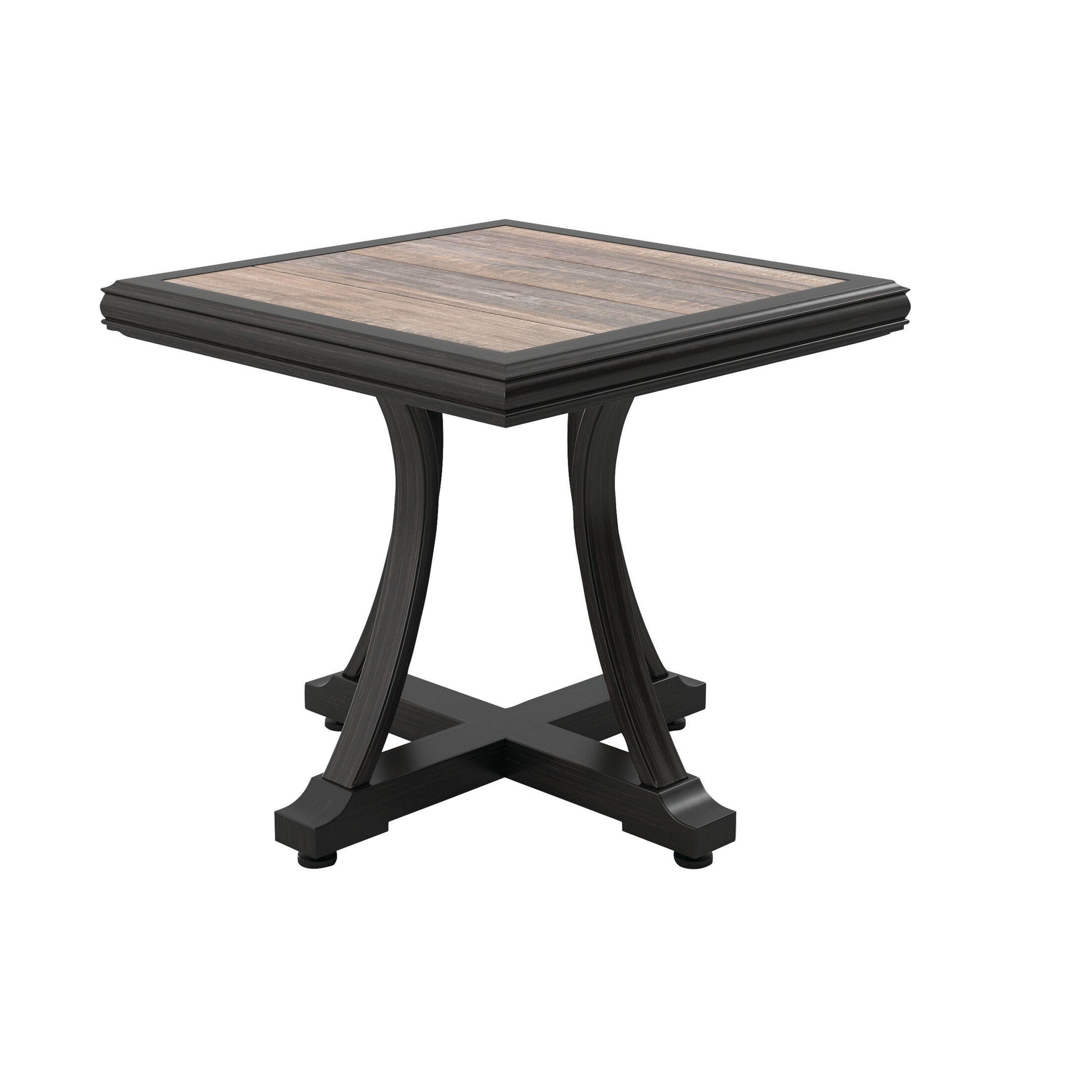 Kohn Aluminum Side Table