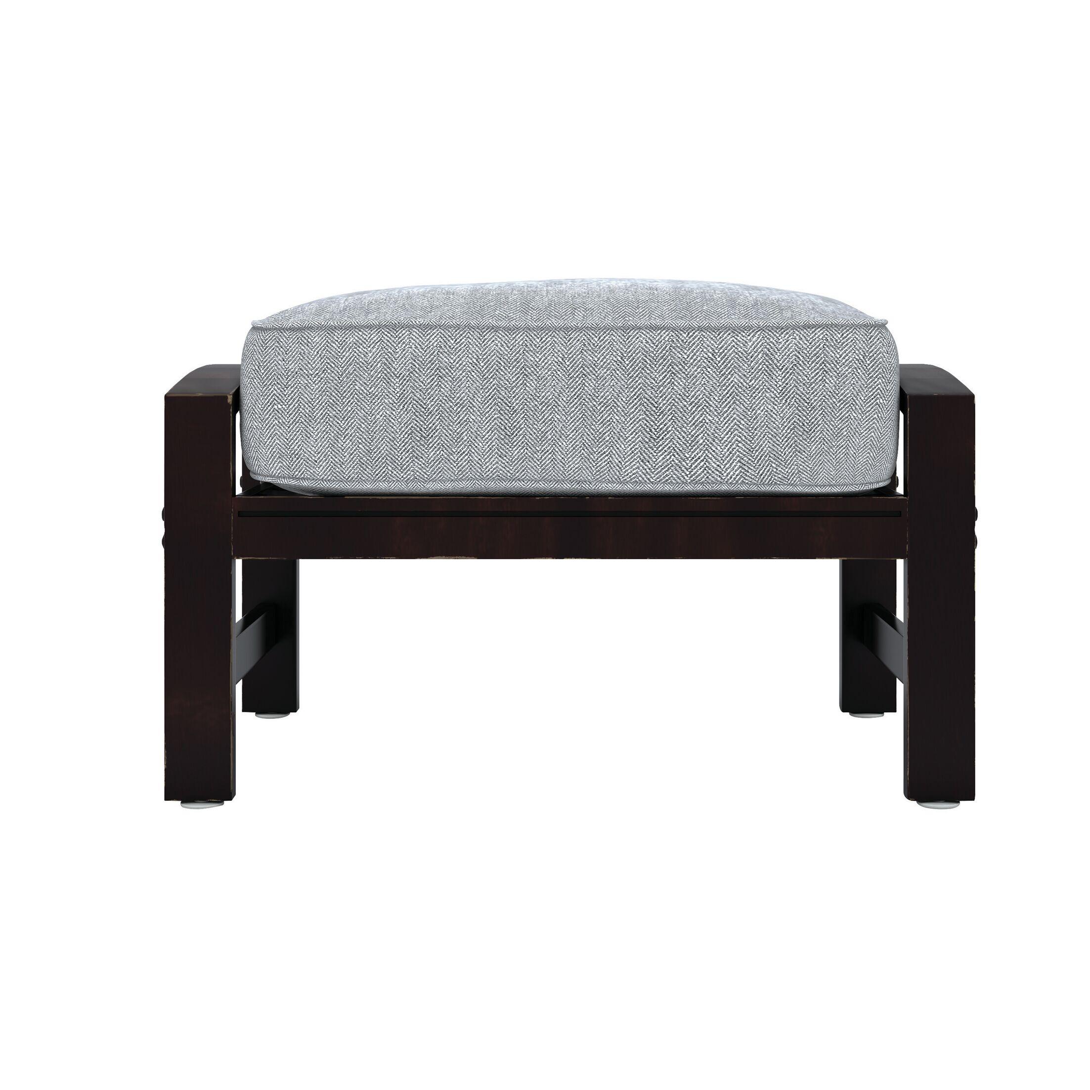 Luedtke Ottoman with Cushion