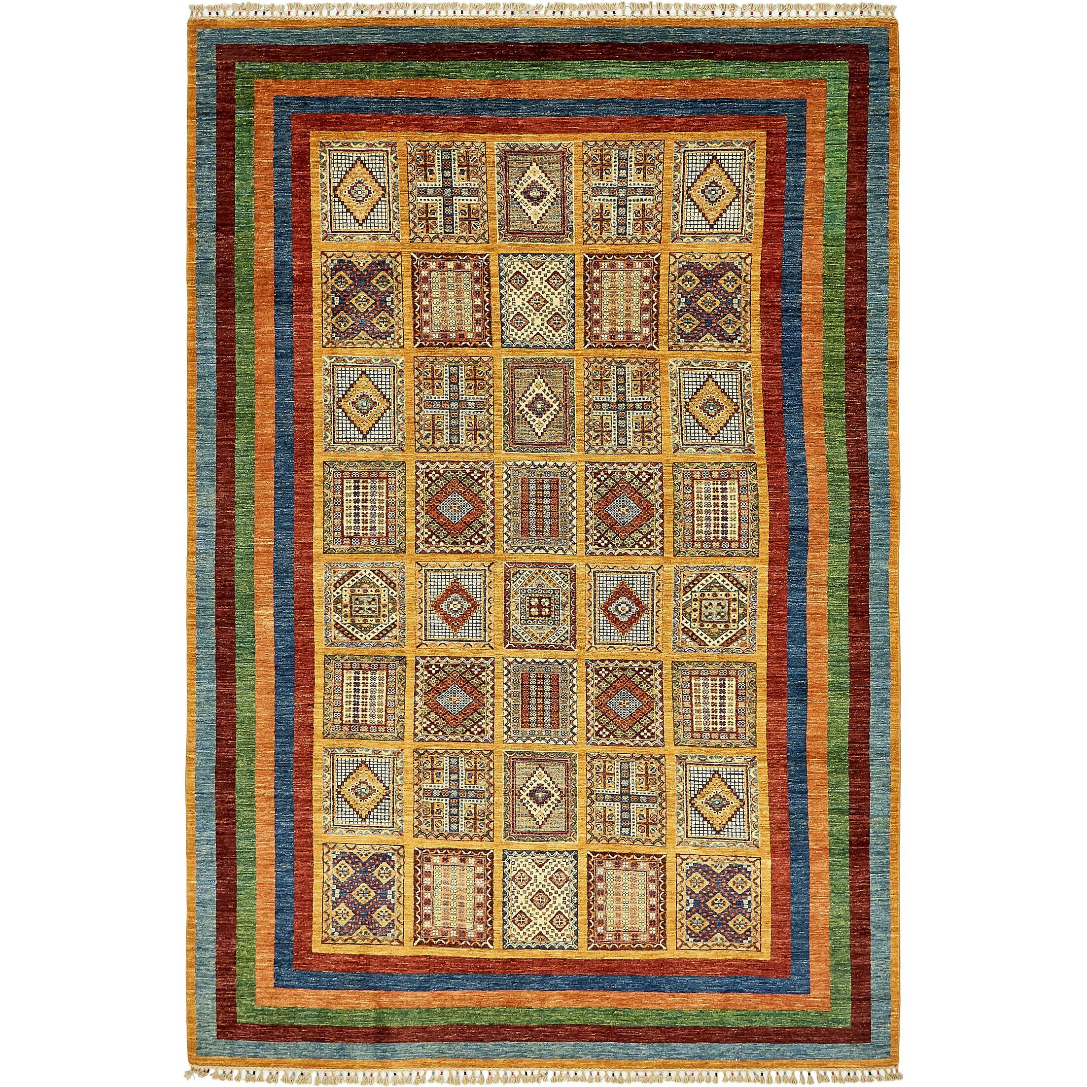 One-of-a-Kind Denver Hand-Knotted Wool Gold Area Rug