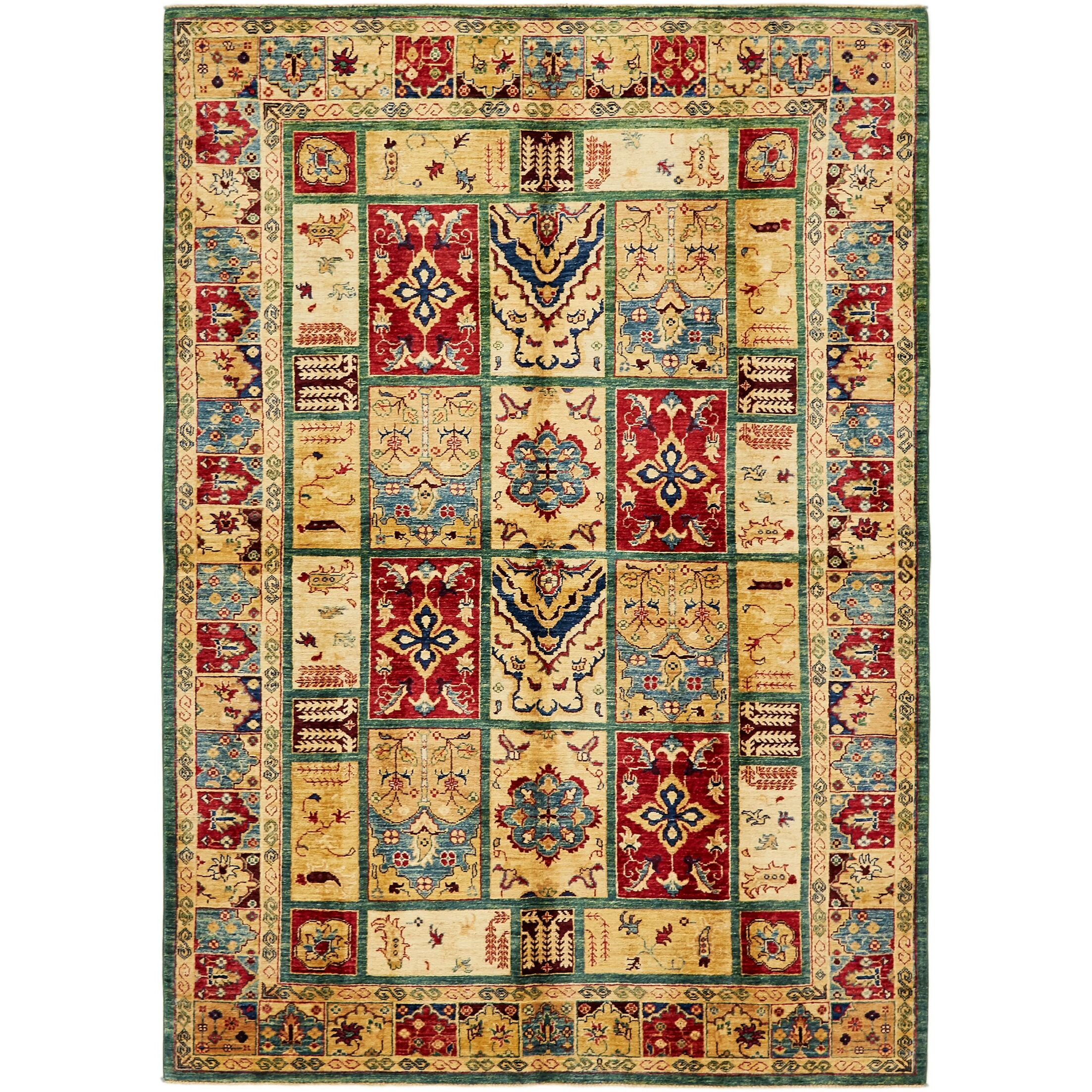 One-of-a-Kind Denver Hand-Knotted Wool Beige Area Rug