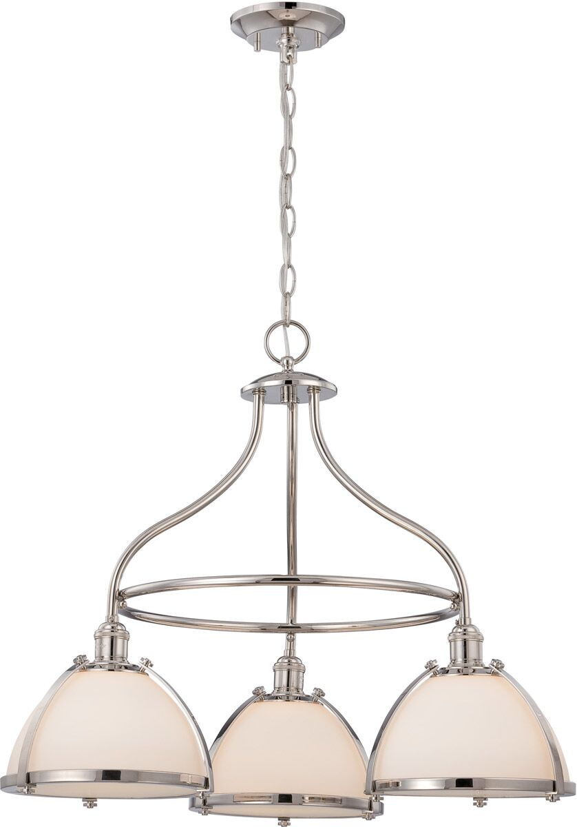 Kenyon 3-Light Shaded Chandelier