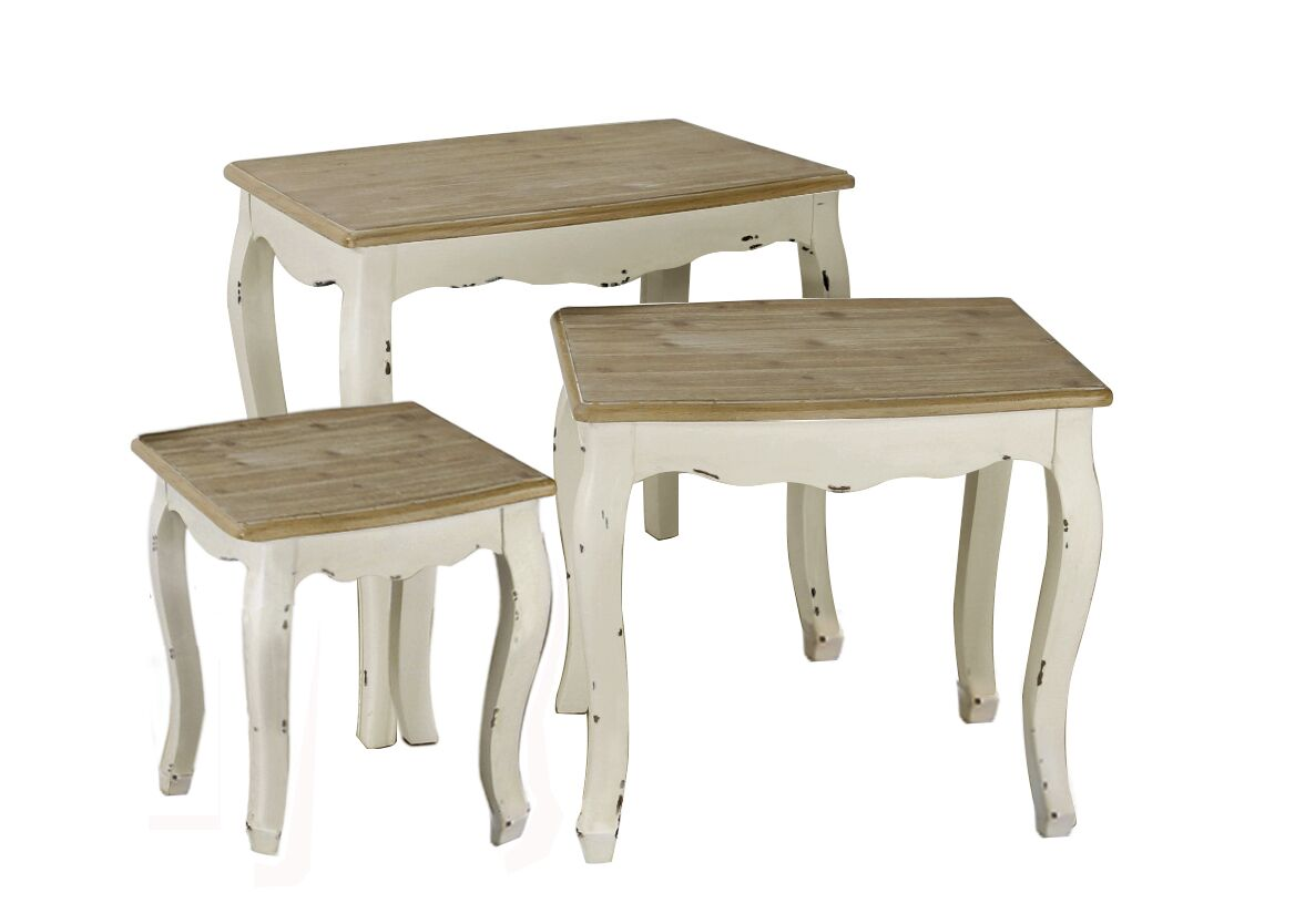 Wadlington 3 Piece Nesting Table