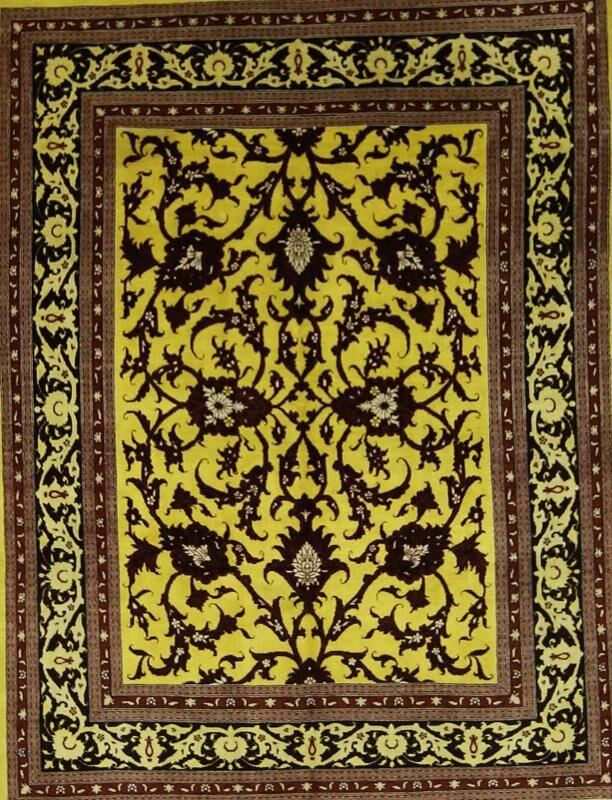 One-of-a-Kind Eddington Traditional Ghashghaei Hand-Knotted 6'5