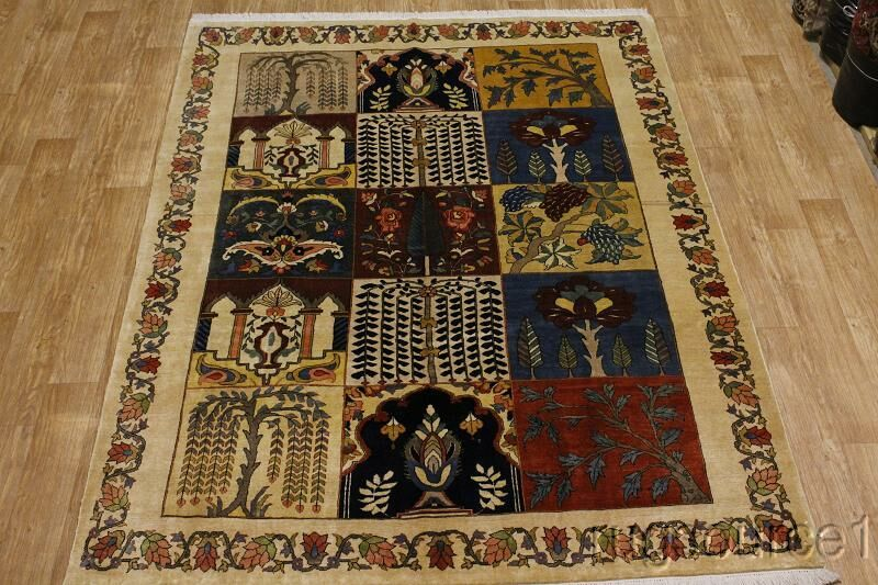 One-of-a-Kind Mattison Bakhtiari Genuine Hand-Knotted 7' x 9'8