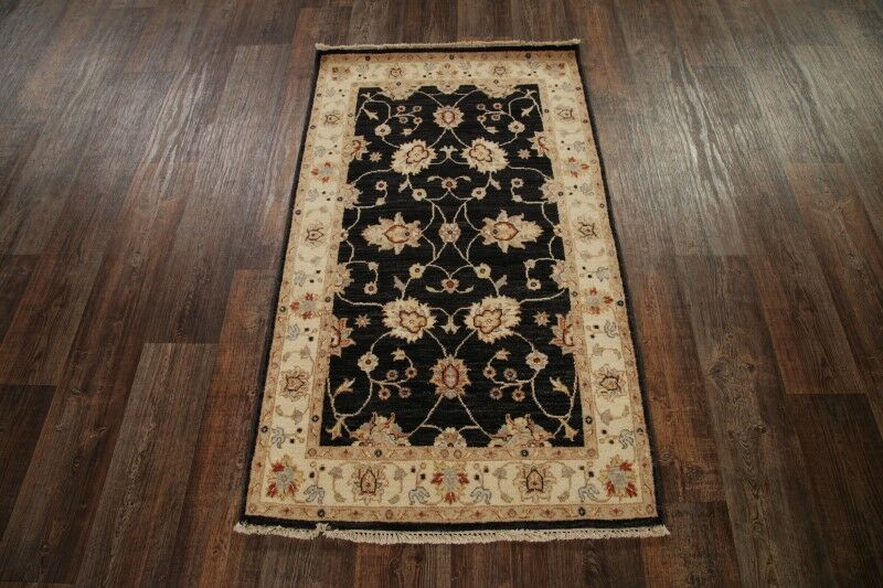 One-of-a-Kind Batson Oushak Oriental Hand-Knotted Wool Blue/Beige Area Rug